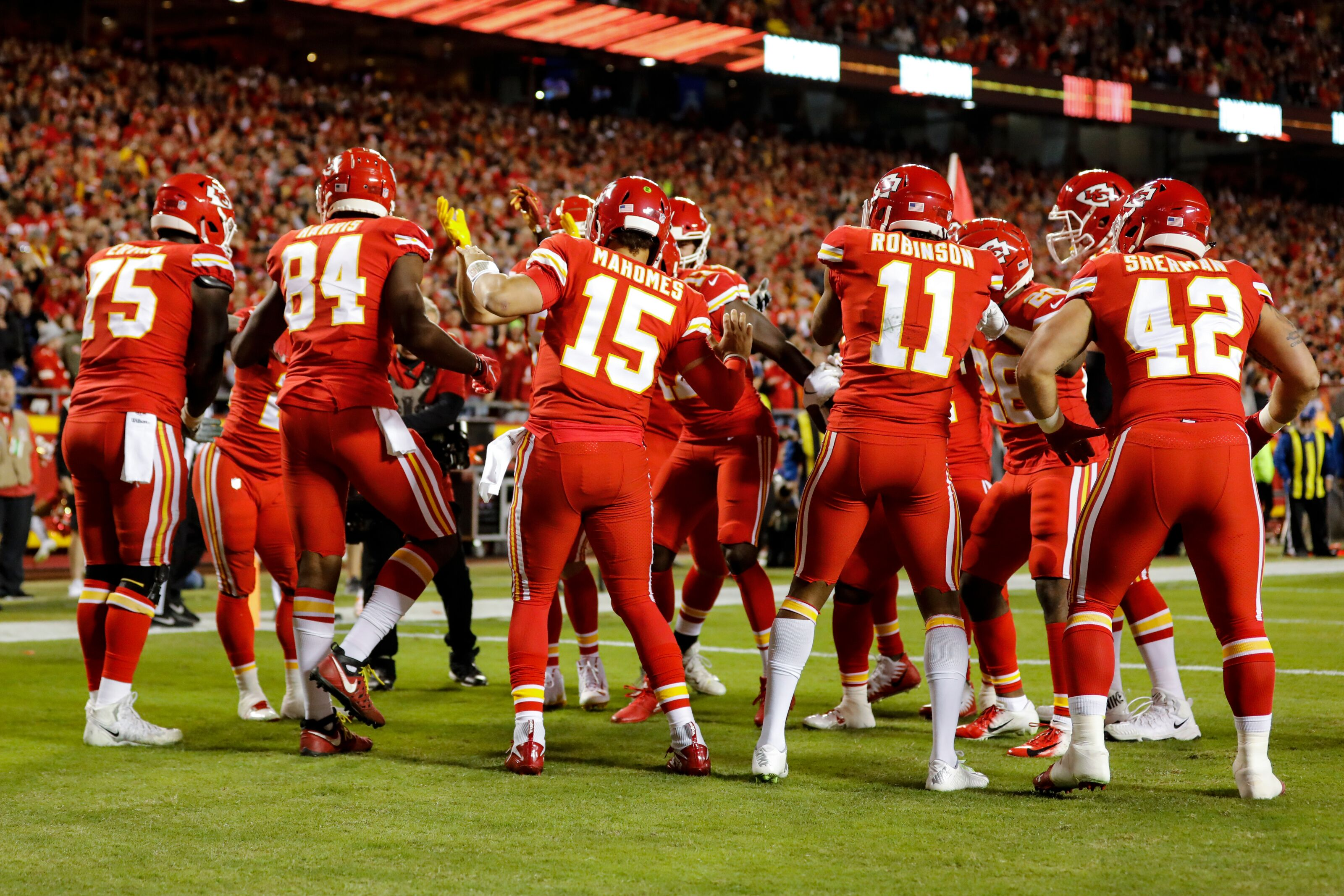 Kansas City Chiefs ranked as second best offensive arsenal