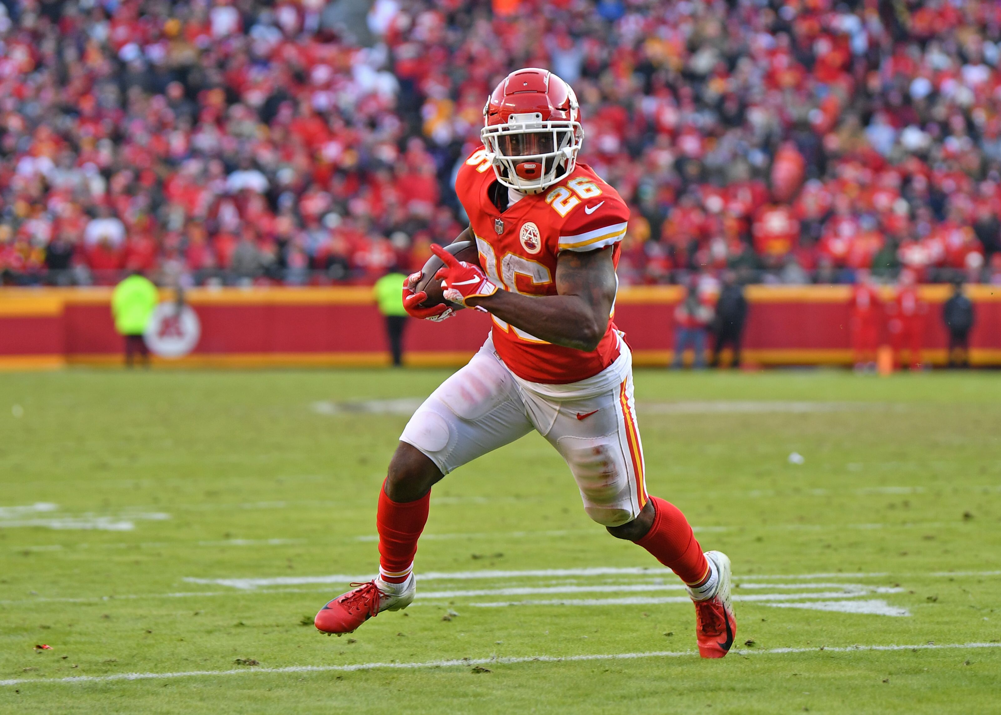 f5ab21fe Kansas City Chiefs: Running back depth chart after 2019 NFL Draft