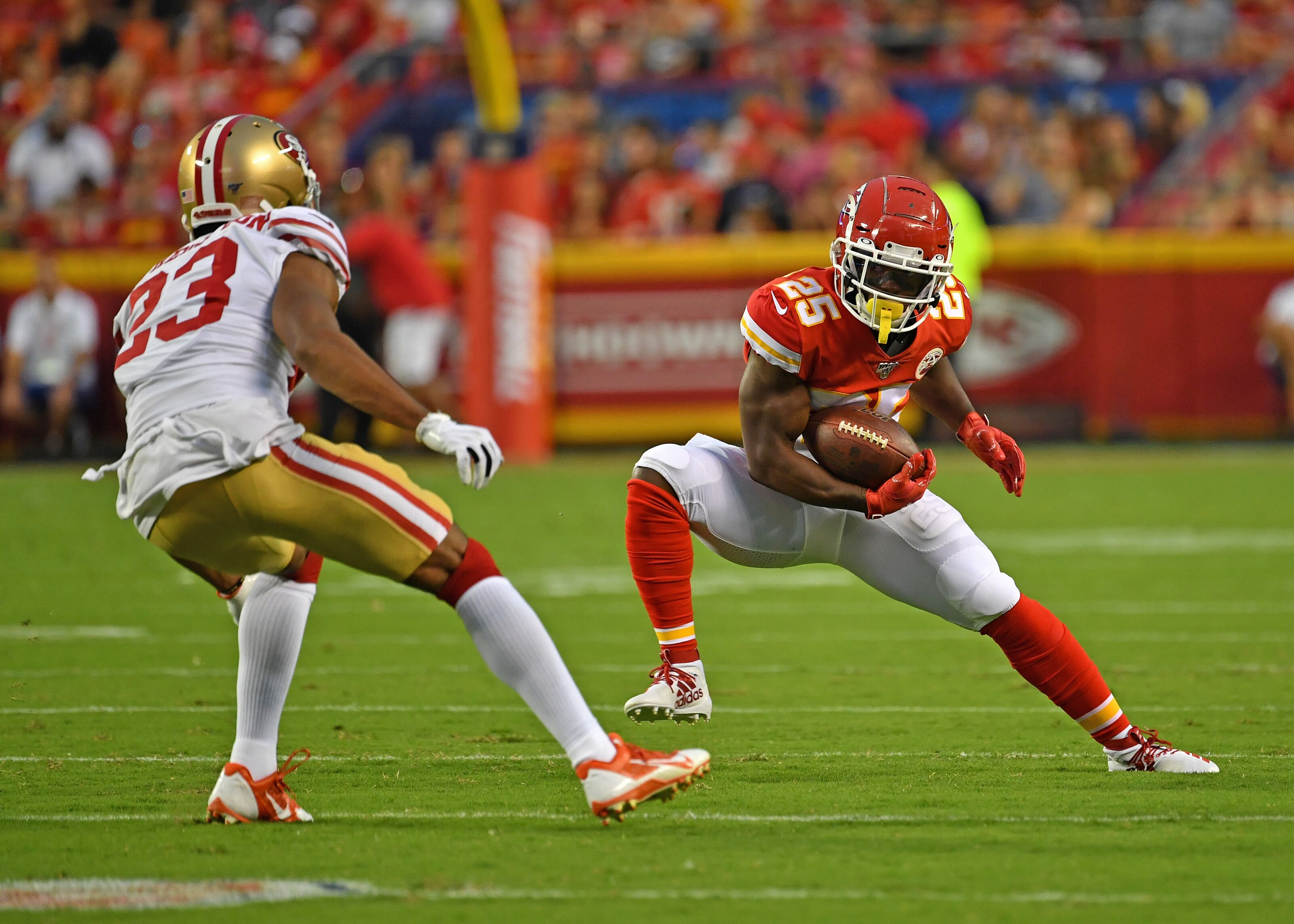 KC Chiefs: Expect breakout game for Darwin Thompson vs Ravens
