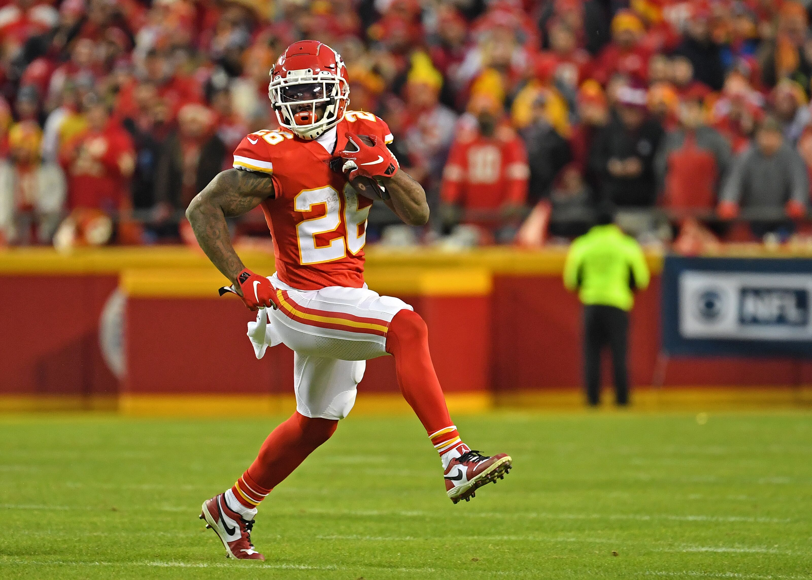 Kansas City Chiefs: Lack of run game not a big deal for this team
