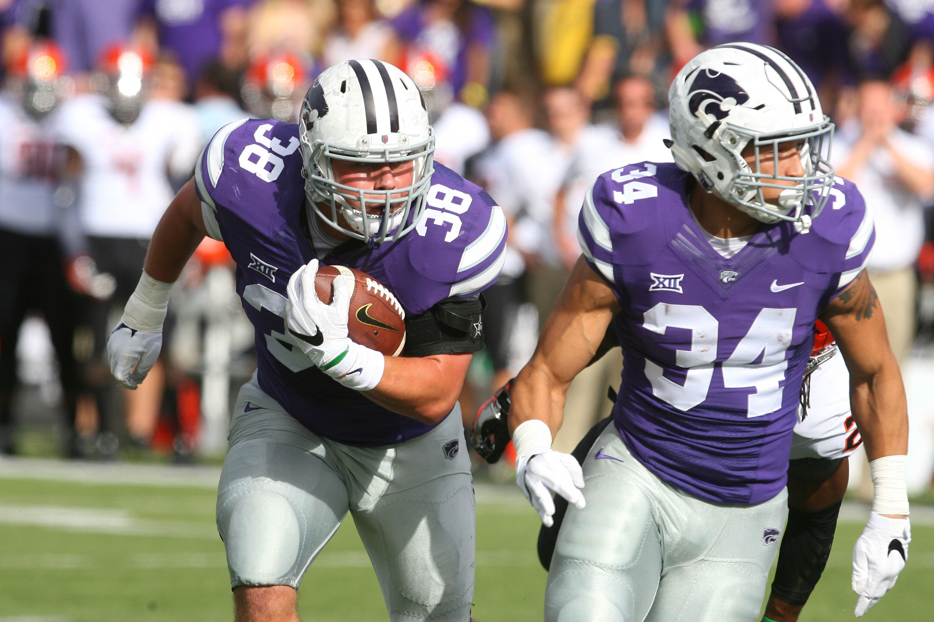 Kansas State Football All Time Leaders In Rushing Yards Page 16