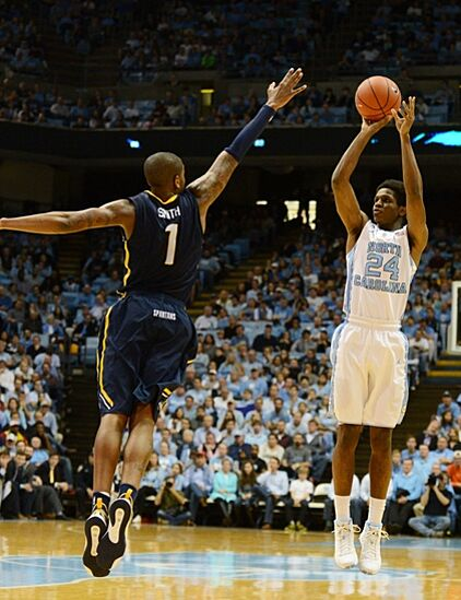 UNC Basketball: Kenny Williams a sharpshooter off the bench?