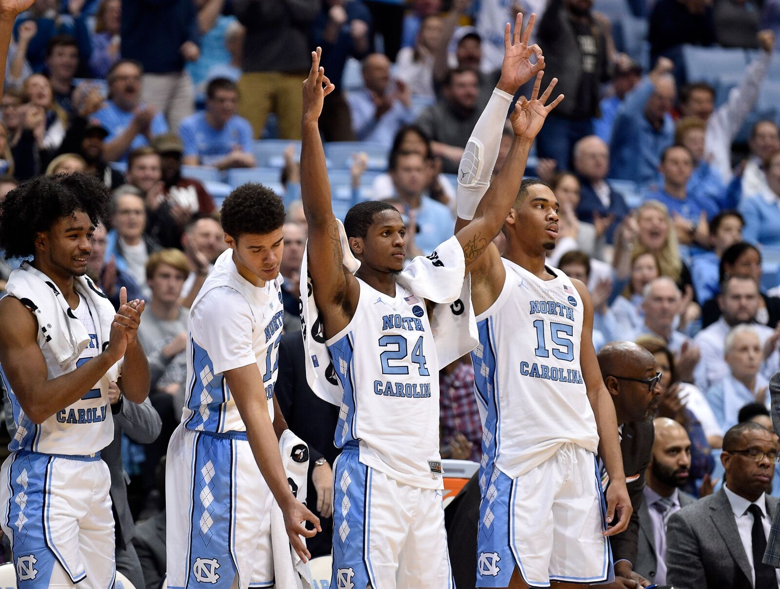 575a92c9be16 UNC Basketball  Tar Heels move to 5-0 after win over Saint Francis
