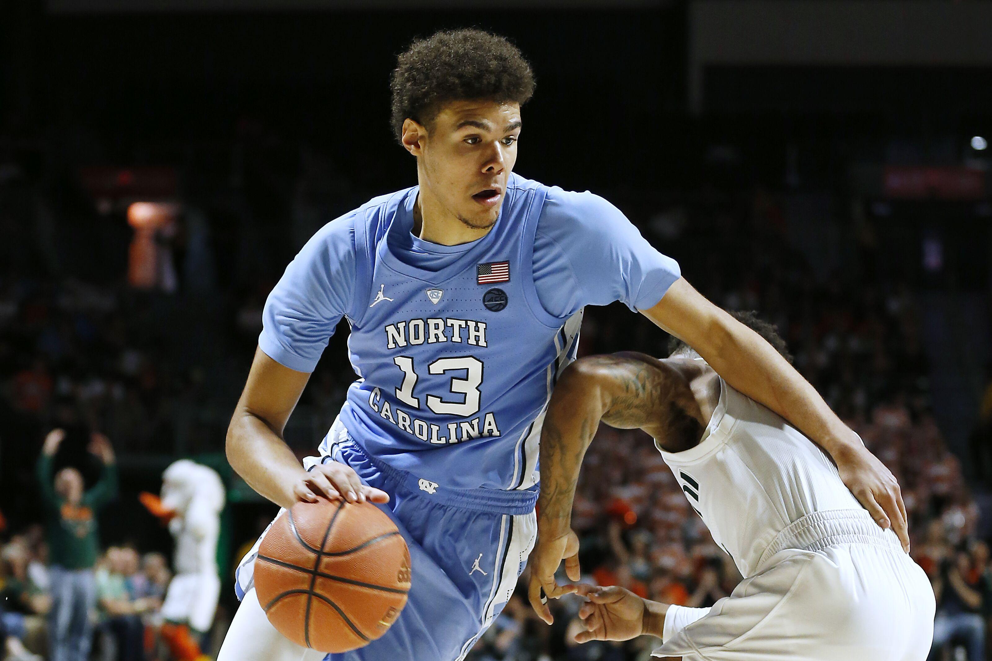 UNC Basketball: Johnson, Maye named to Naismith Midseason Team