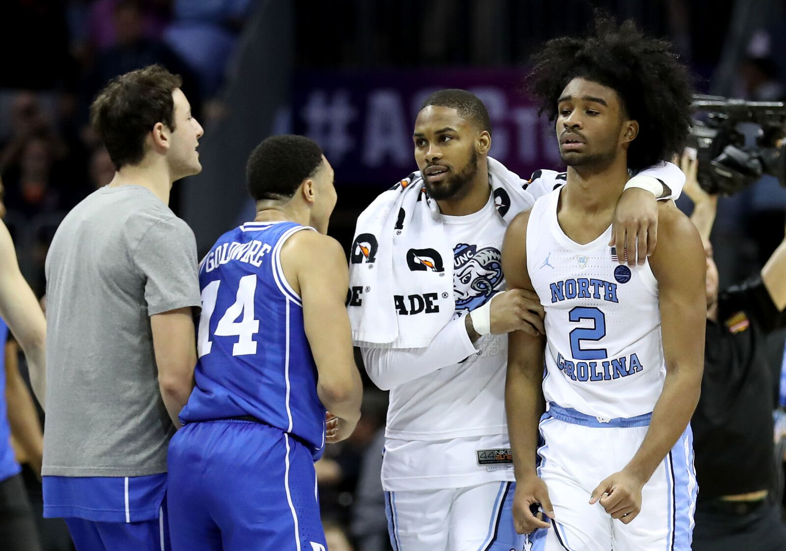 UNC Basketball: Tar Heels fall to a 2-seed in Bracketology