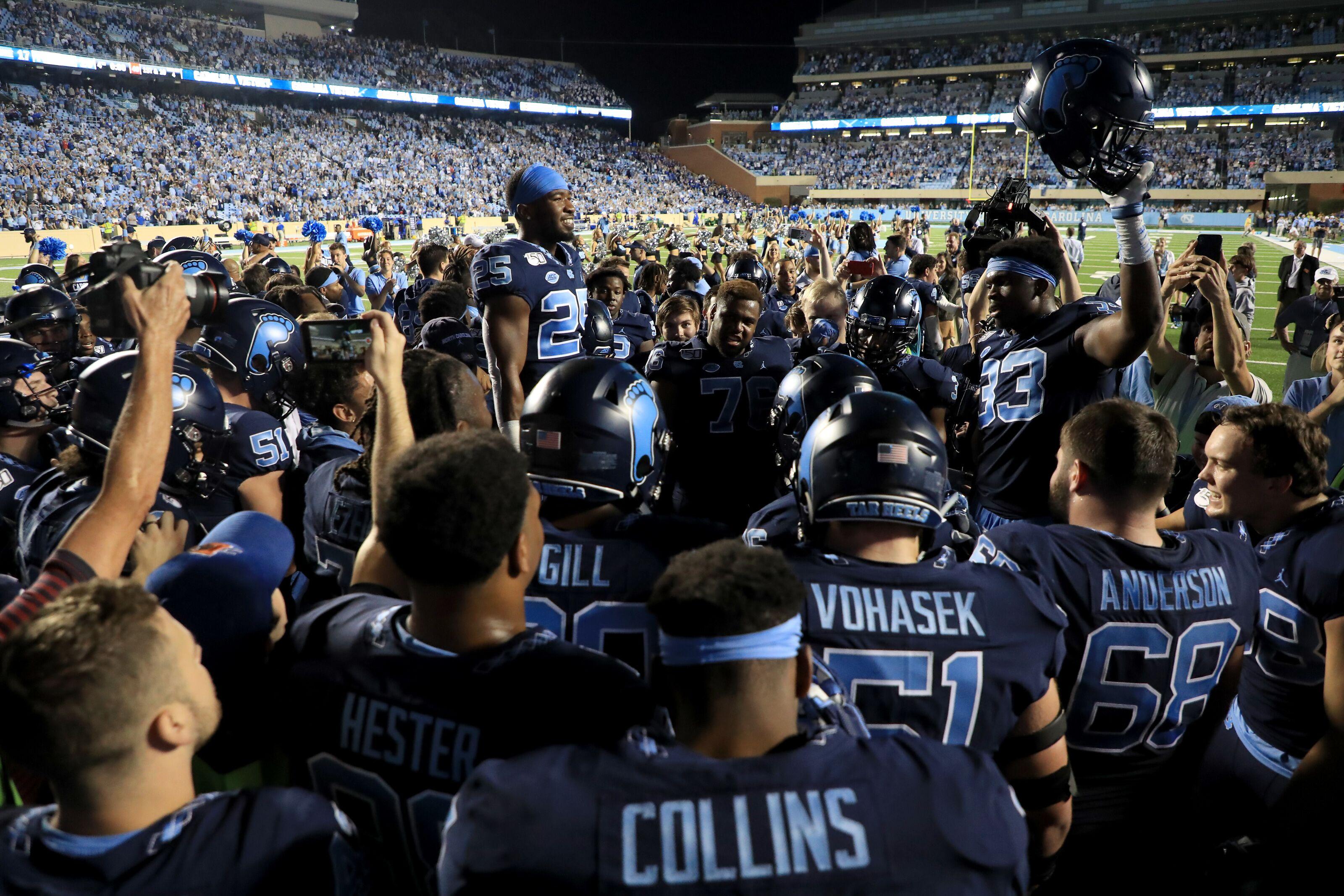 UNC Football: Tar Heels open as favorites vs. Temple in Military Bowl