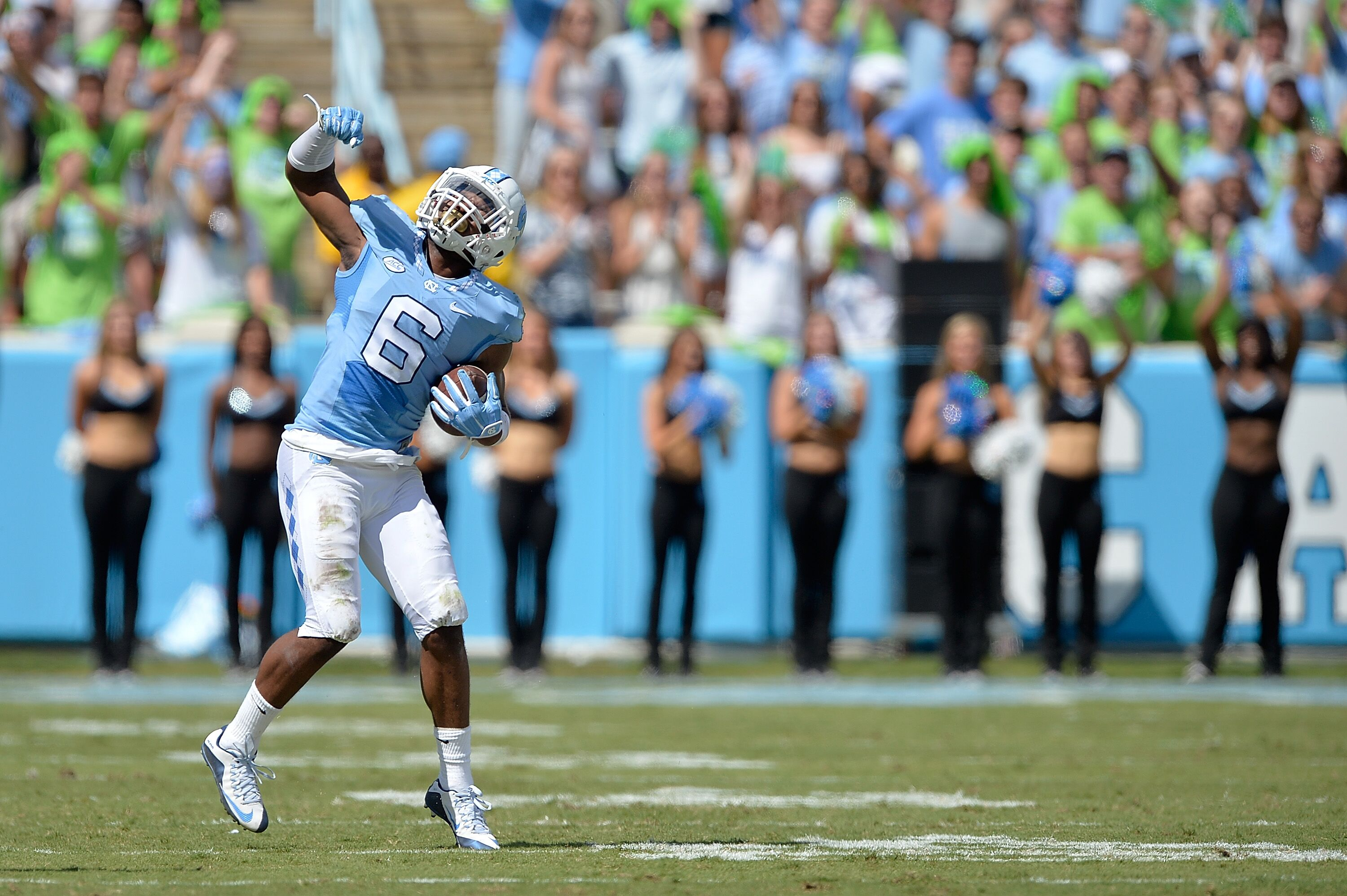 19caee9c29320f UNC Football: Tar Heels host 2018 Pro Day for NFL Scouts