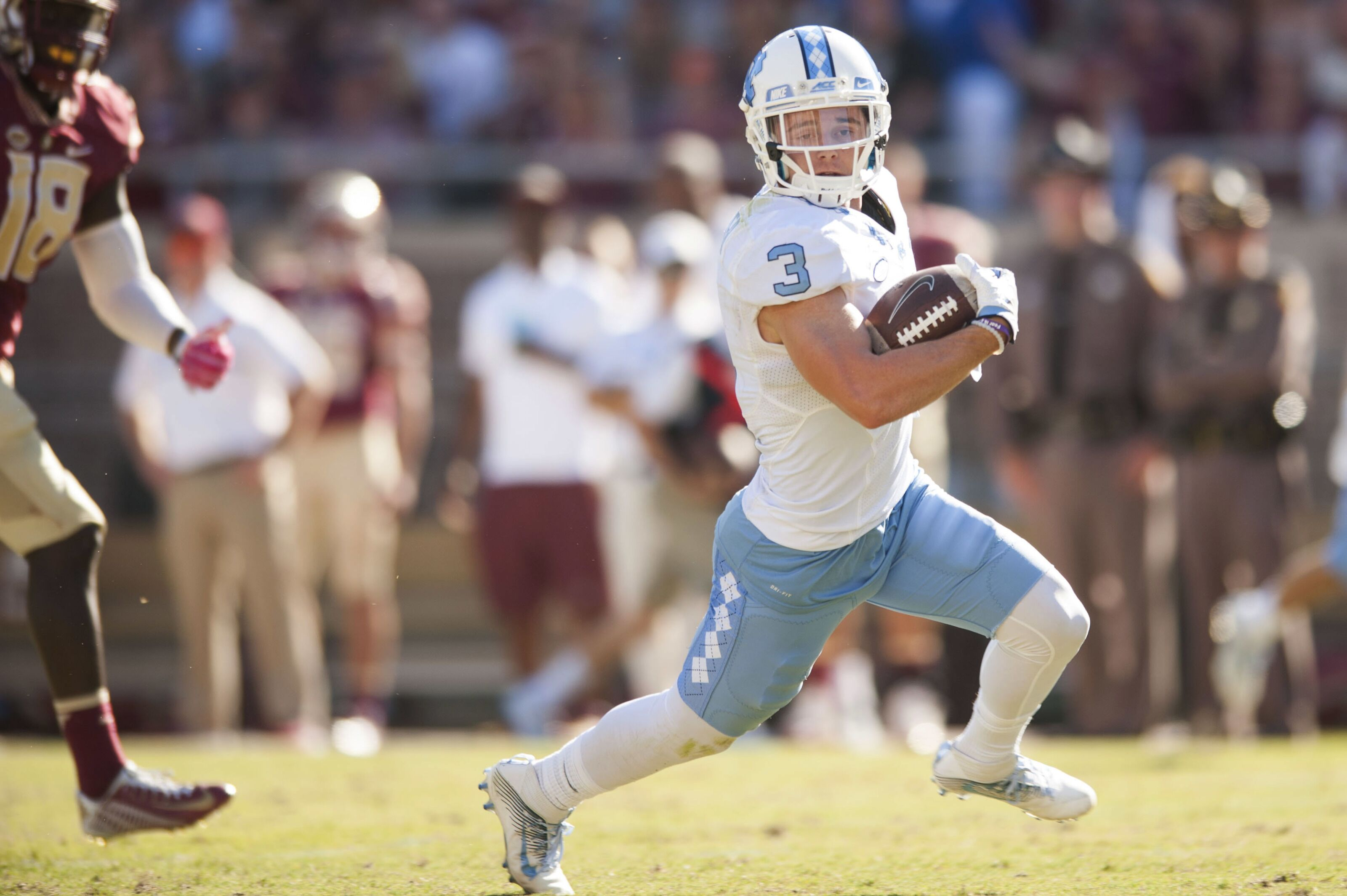 d84bd82f9 UNC in the NFL  Ryan Switzer scores TD in first game with Raiders