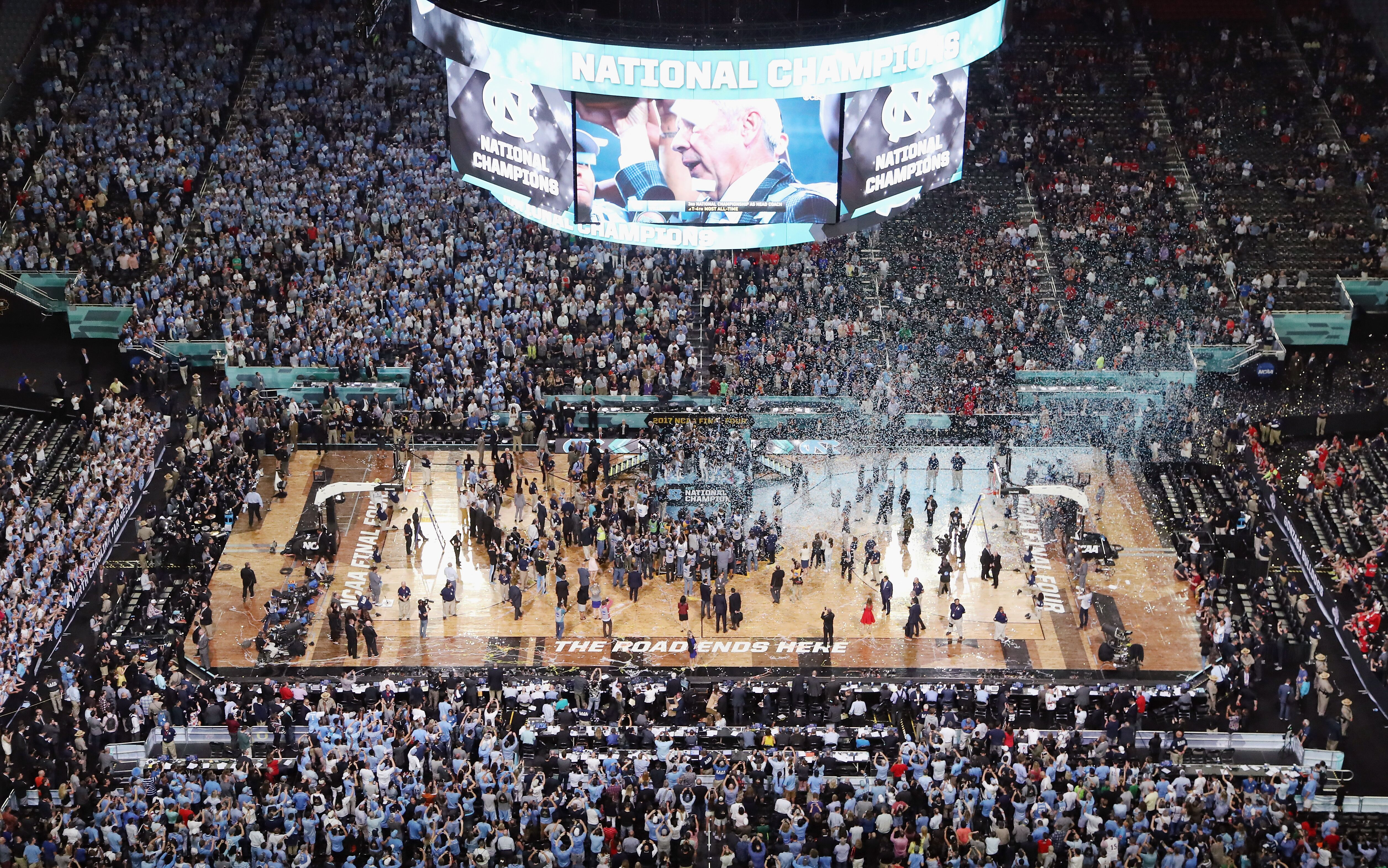 Unc Basketball Ring Ceremony