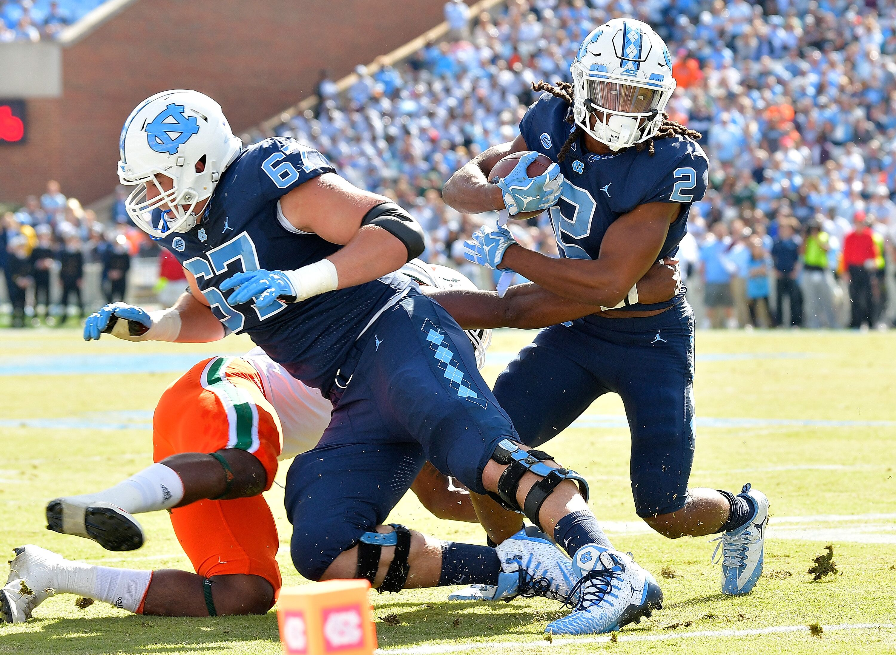 UNC Football Preview: Offensive line