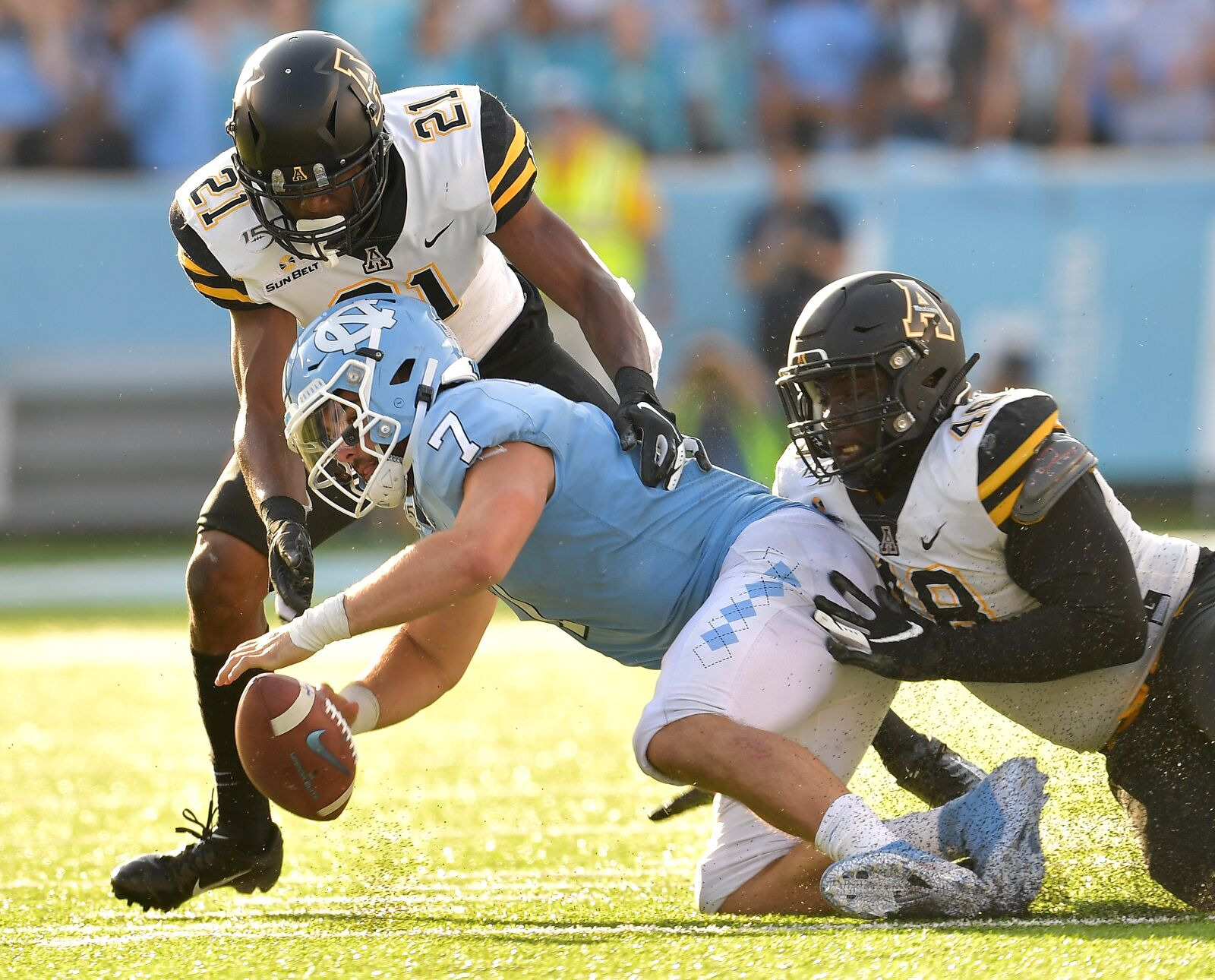 Following UNC Football's 34-31 loss to App State, are the Tar Heels in trouble?