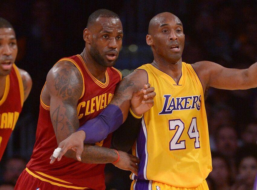 d26dad013 TBT  LeBron James Vs. Kobe Bryant In  07 Blue-White Game