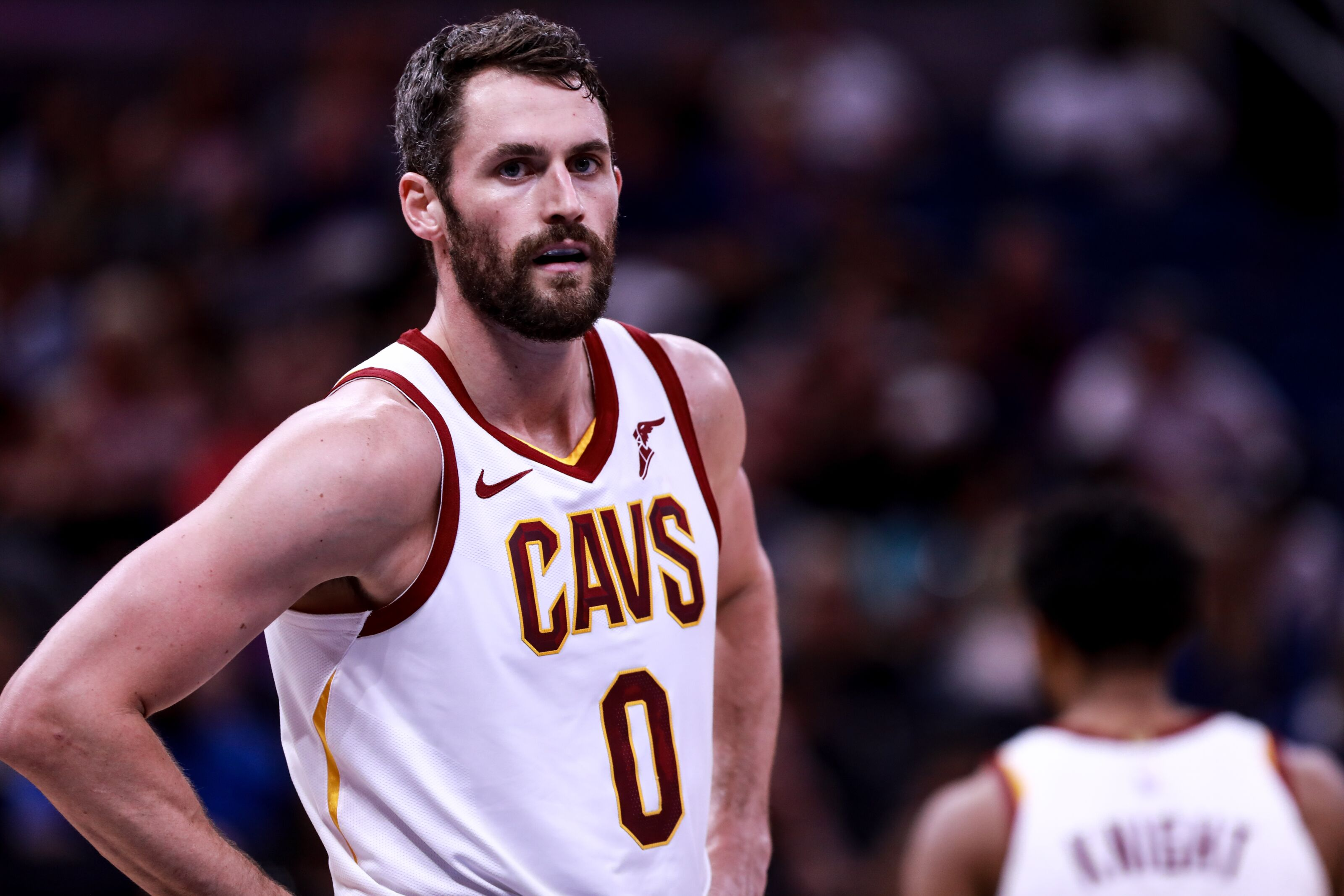 Report: Cavaliers' Kevin Love suffered a lower back contusion