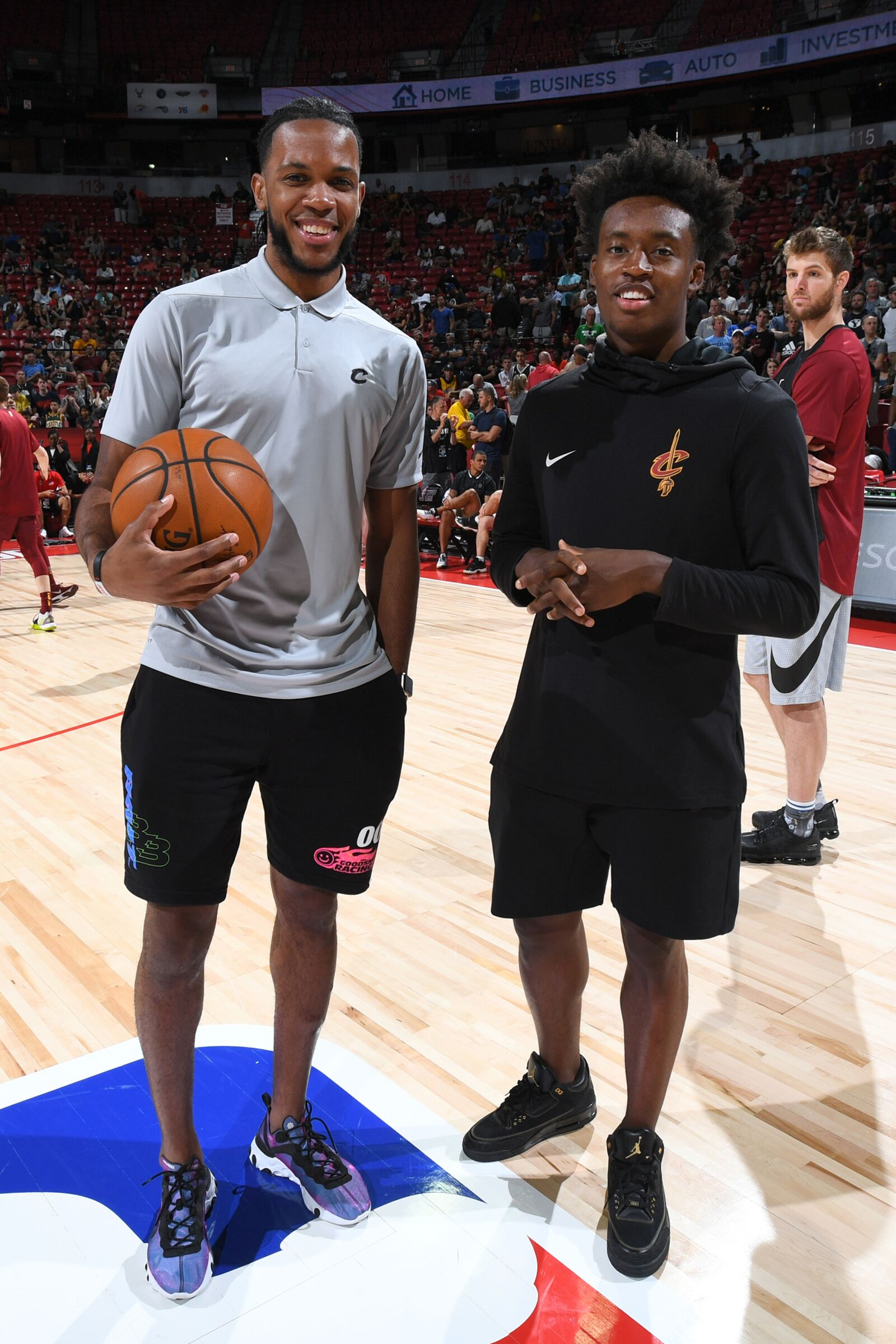Cavs' Collin Sexton's enthusiasm for 2019-20 already to kick off is so on-brand