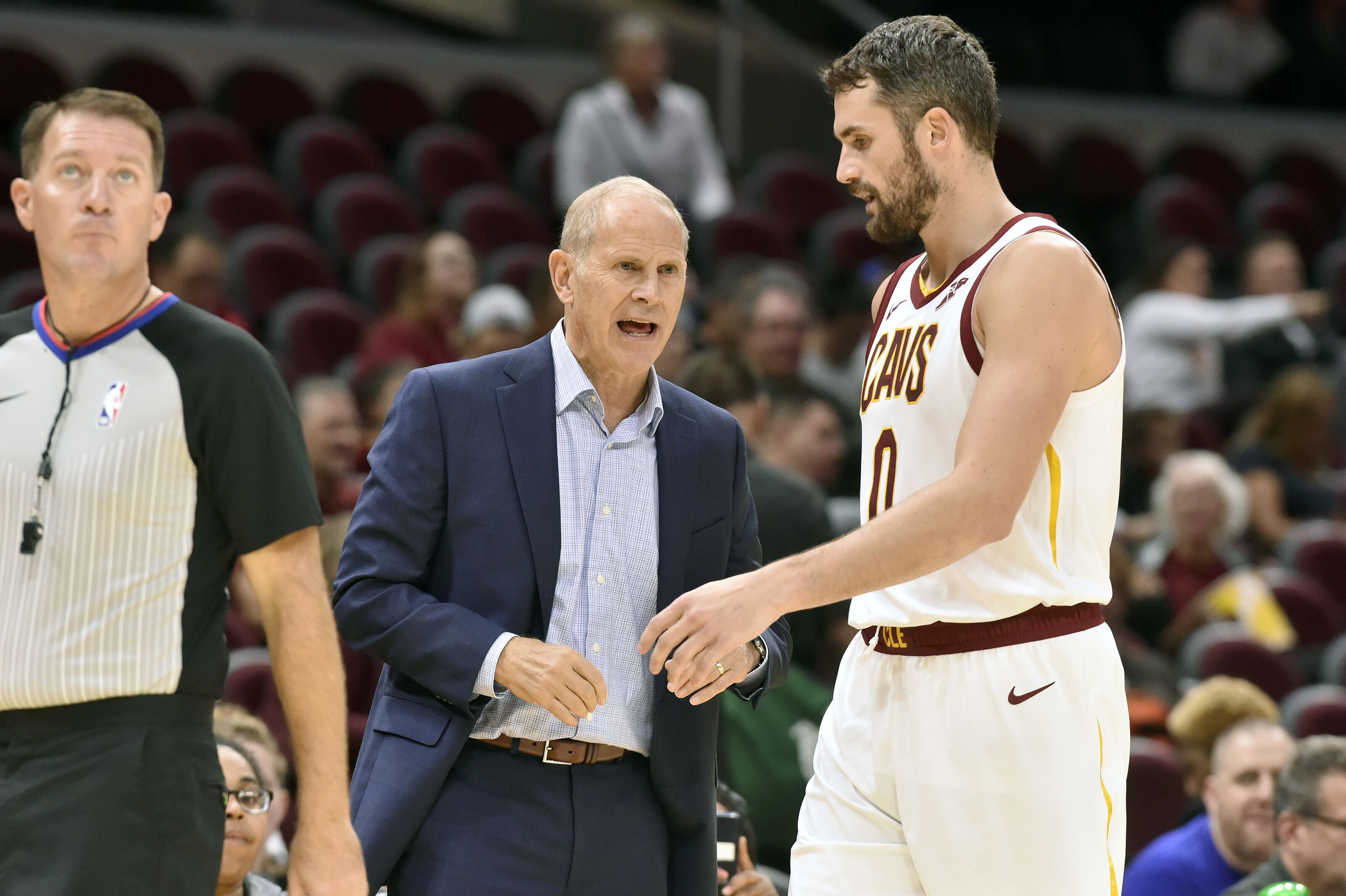 Cavs are moving along in rebuild with first option Kevin Love, player development as main focus, ESPN's 'The Jump' just doesn't see it