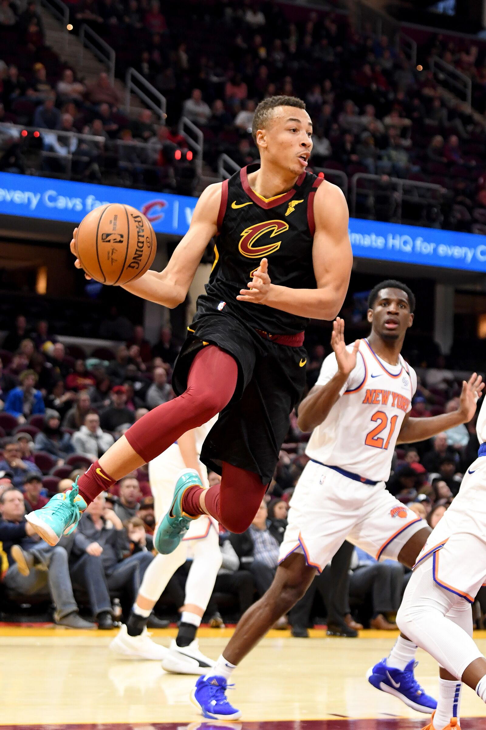 The Cavaliers need Dante Exum to get it going again