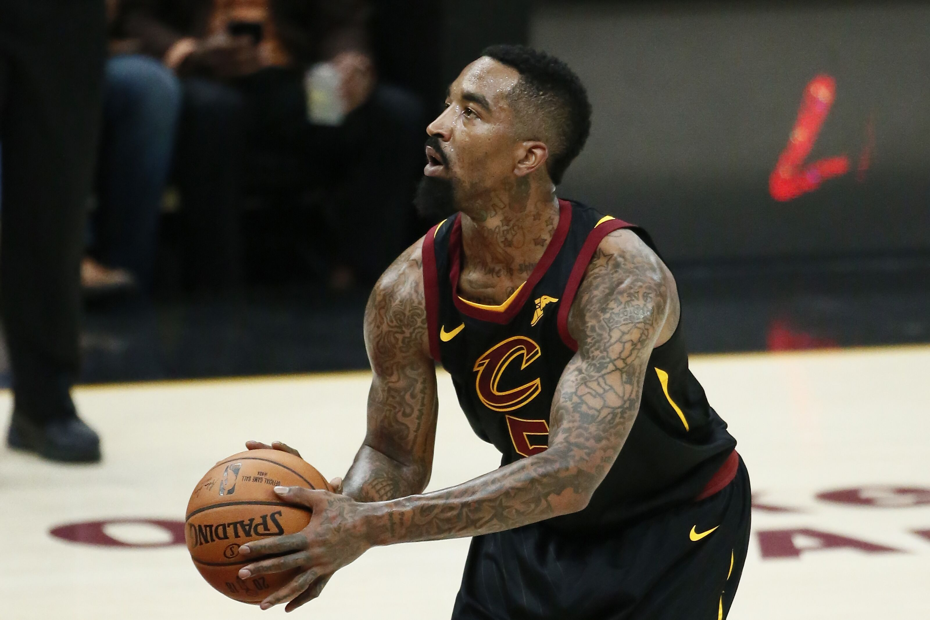 Cleveland Cavaliers  J.R. Smith has moved on from Finals Game 1 gaffe 744a24125
