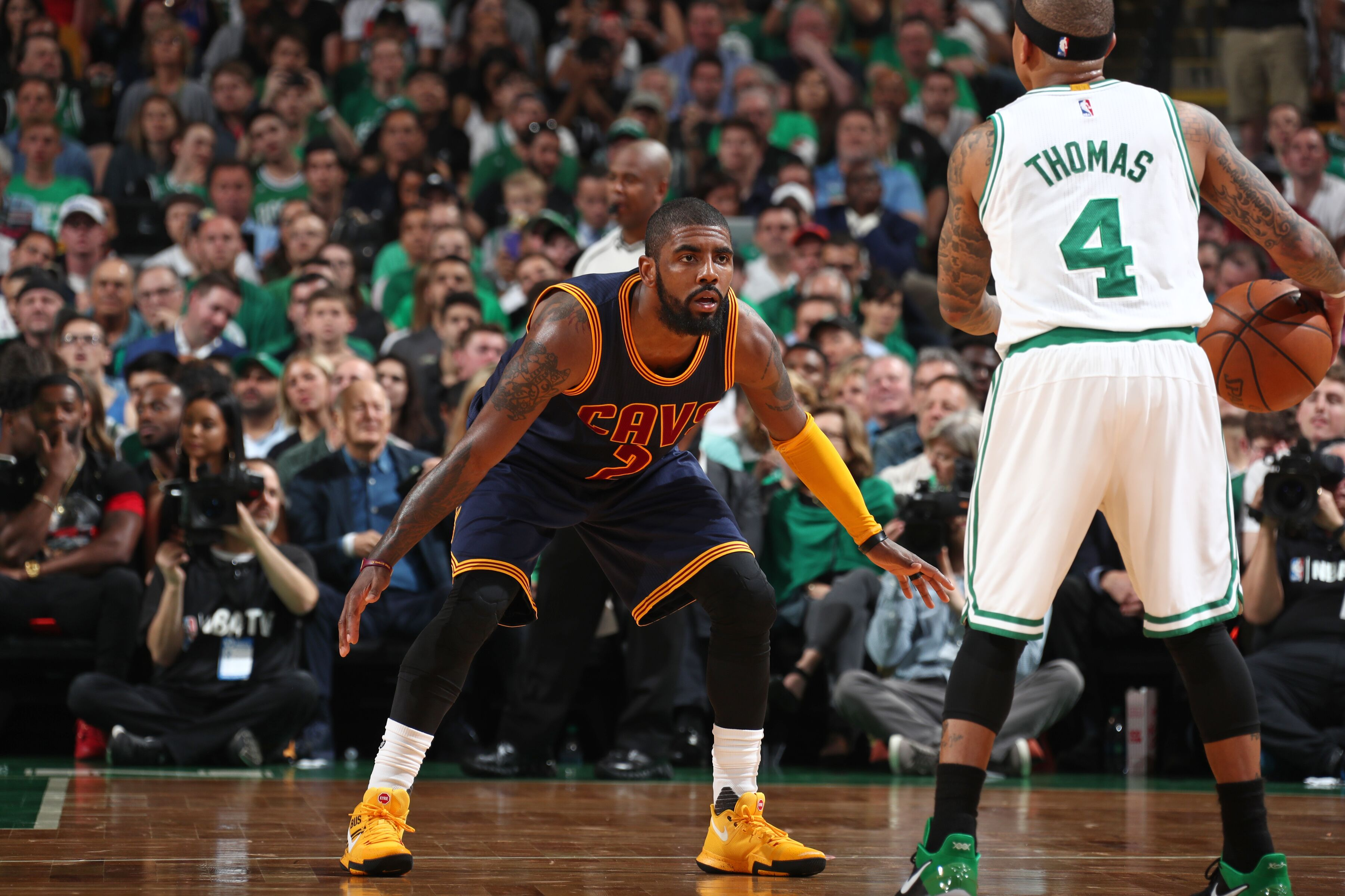 Why Boston could be the ideal trade partner for Kyrie