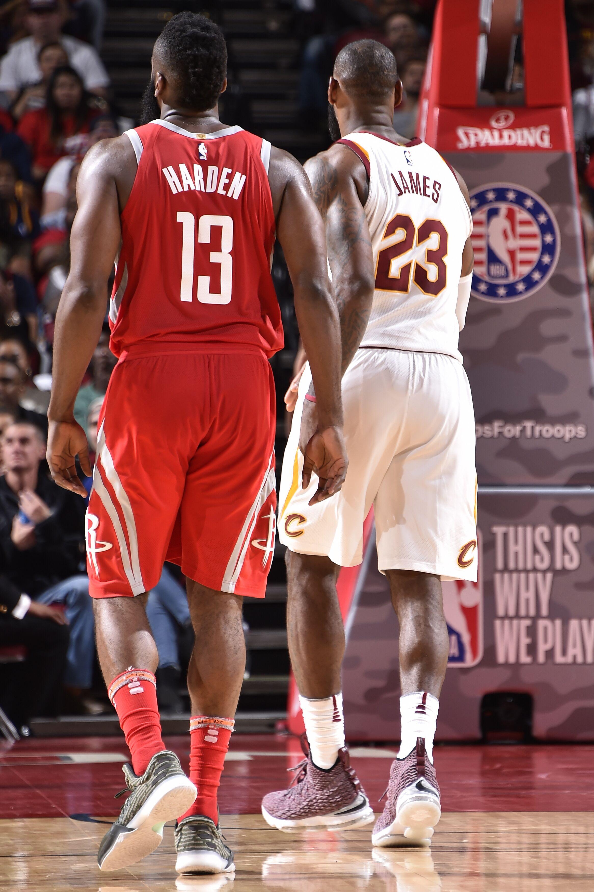 d0550dd3a59c The 2017-18 NBA MVP Race  LeBron James vs James Harden