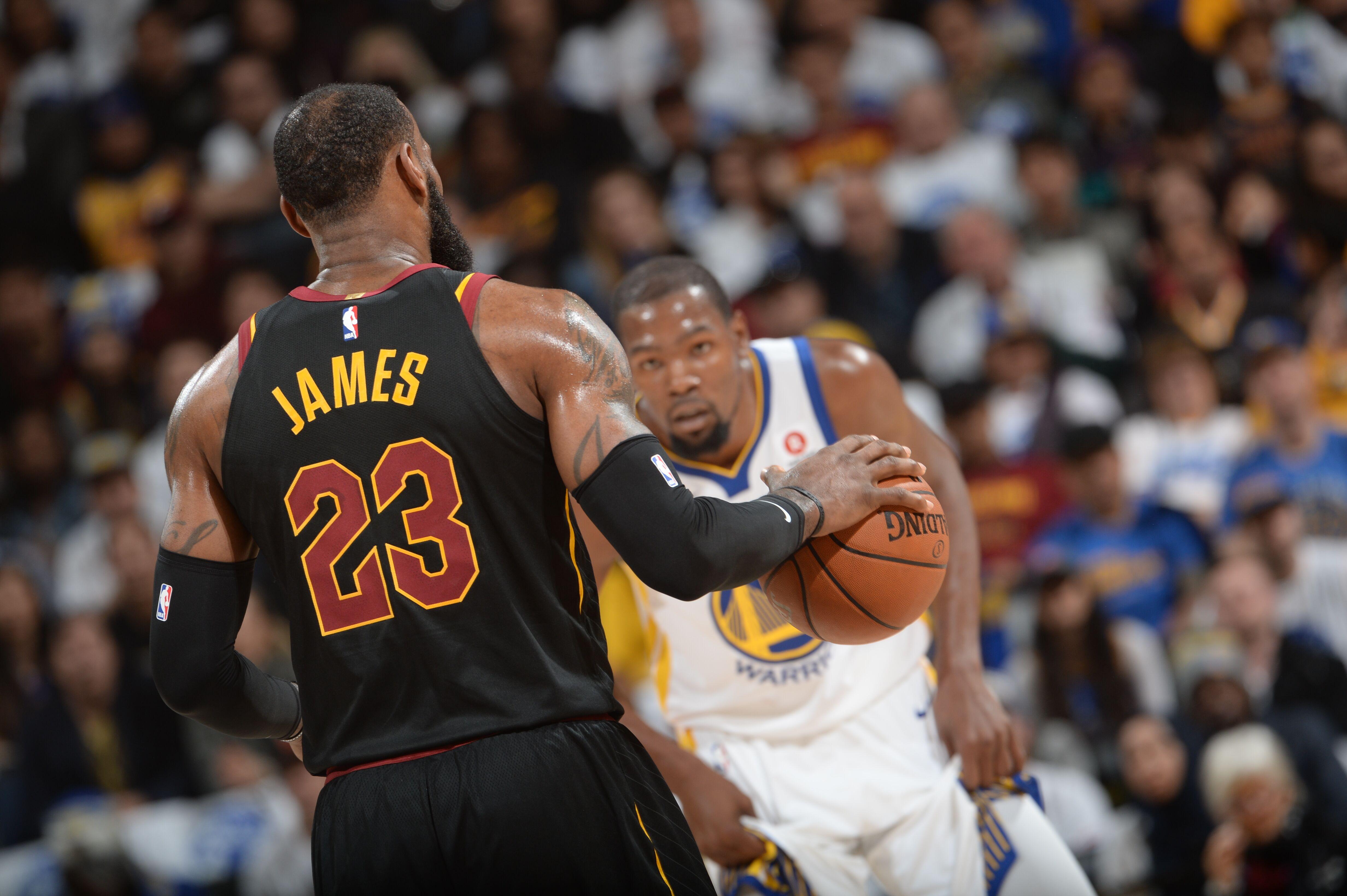 LeBron James vs. Kevin Durant: The battle for NBA supremacy
