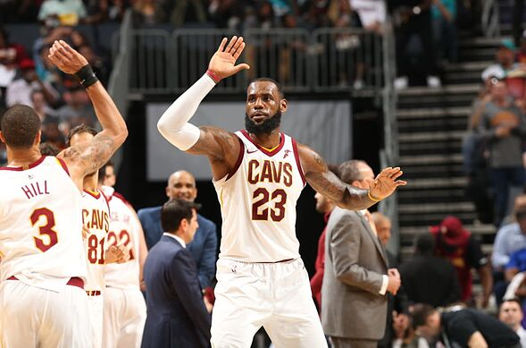 ab4774fa628 LeBron James and the Cleveland Cavaliers got back on the right track with a  decisive 118-105 win over the Charlotte Hornets.