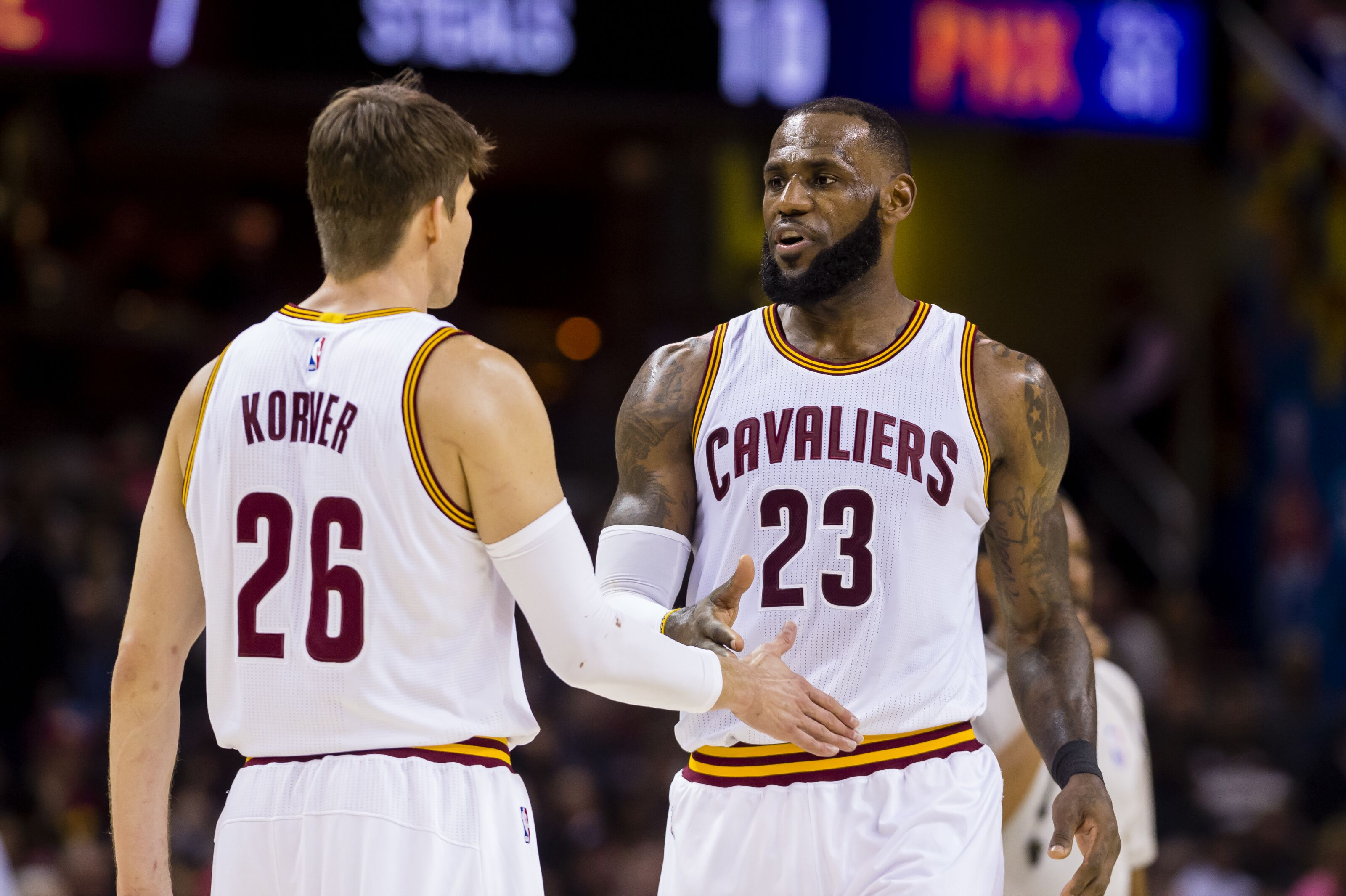 Cleveland Cavaliers Just add the Korver trade request news to the list