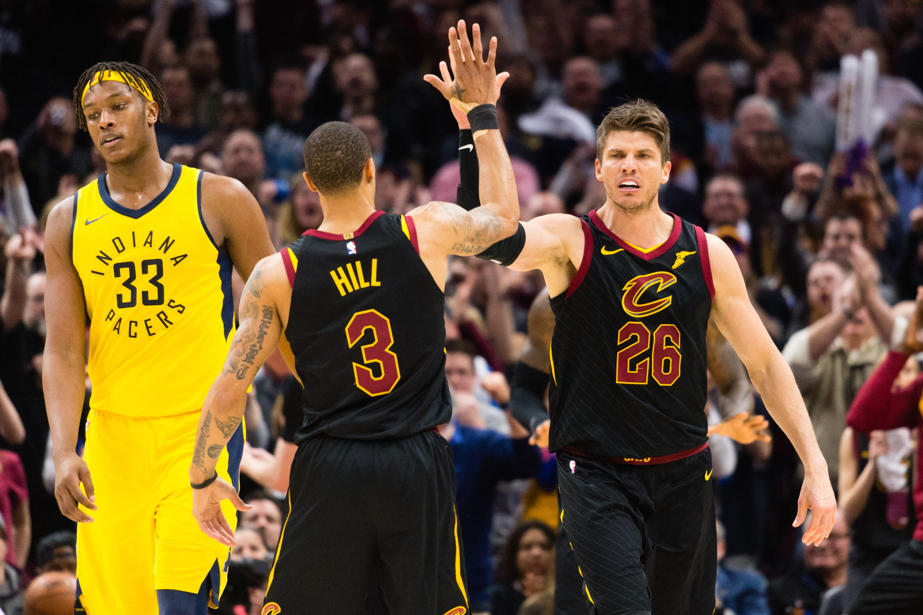 the latest cb4cd a2f22 Rumors: Cleveland Cavaliers exploring trades for George Hill ...