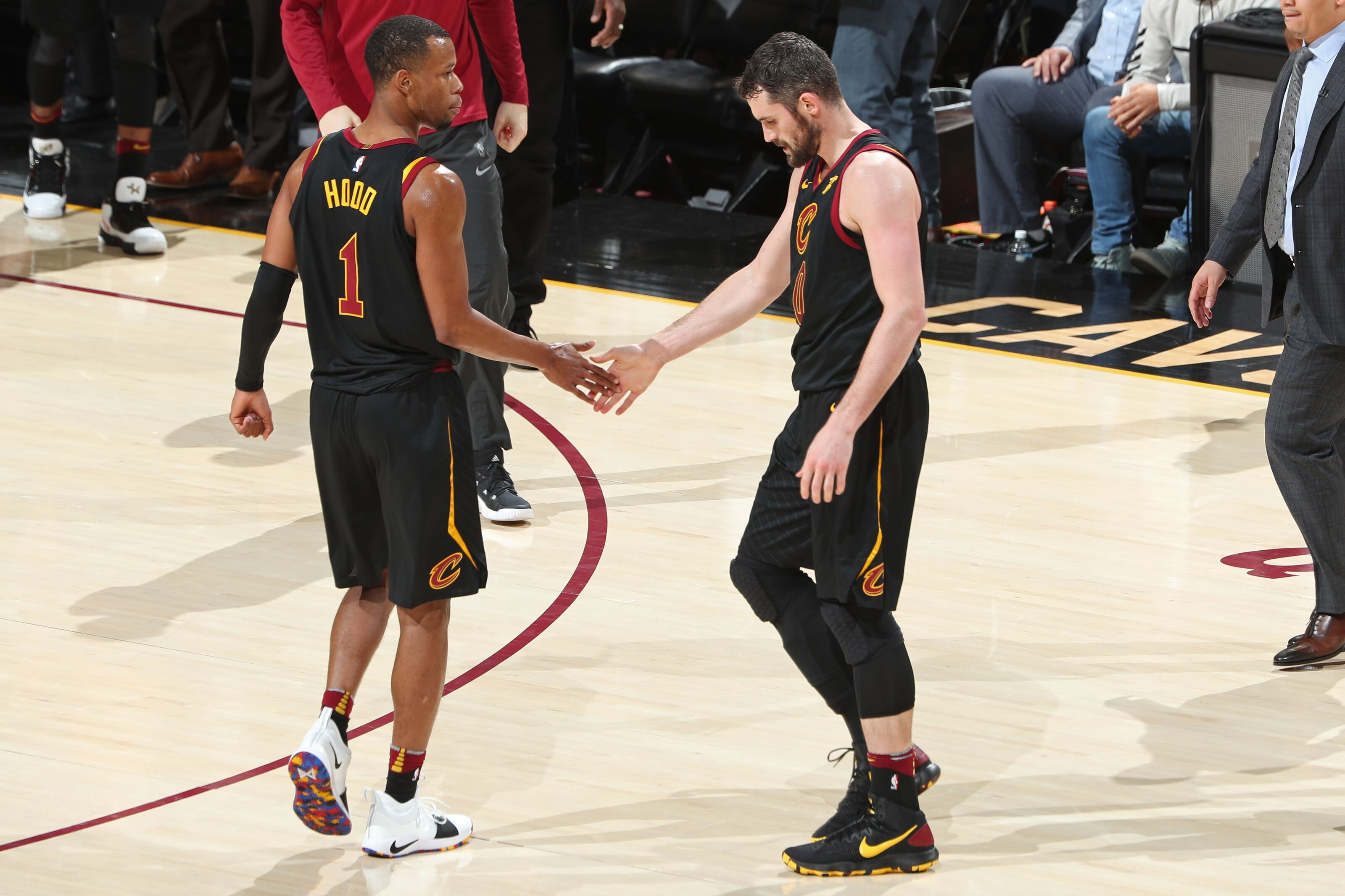 fb411838 Cleveland Cavaliers: Rodney Hood should play vs Detroit if he's healthier