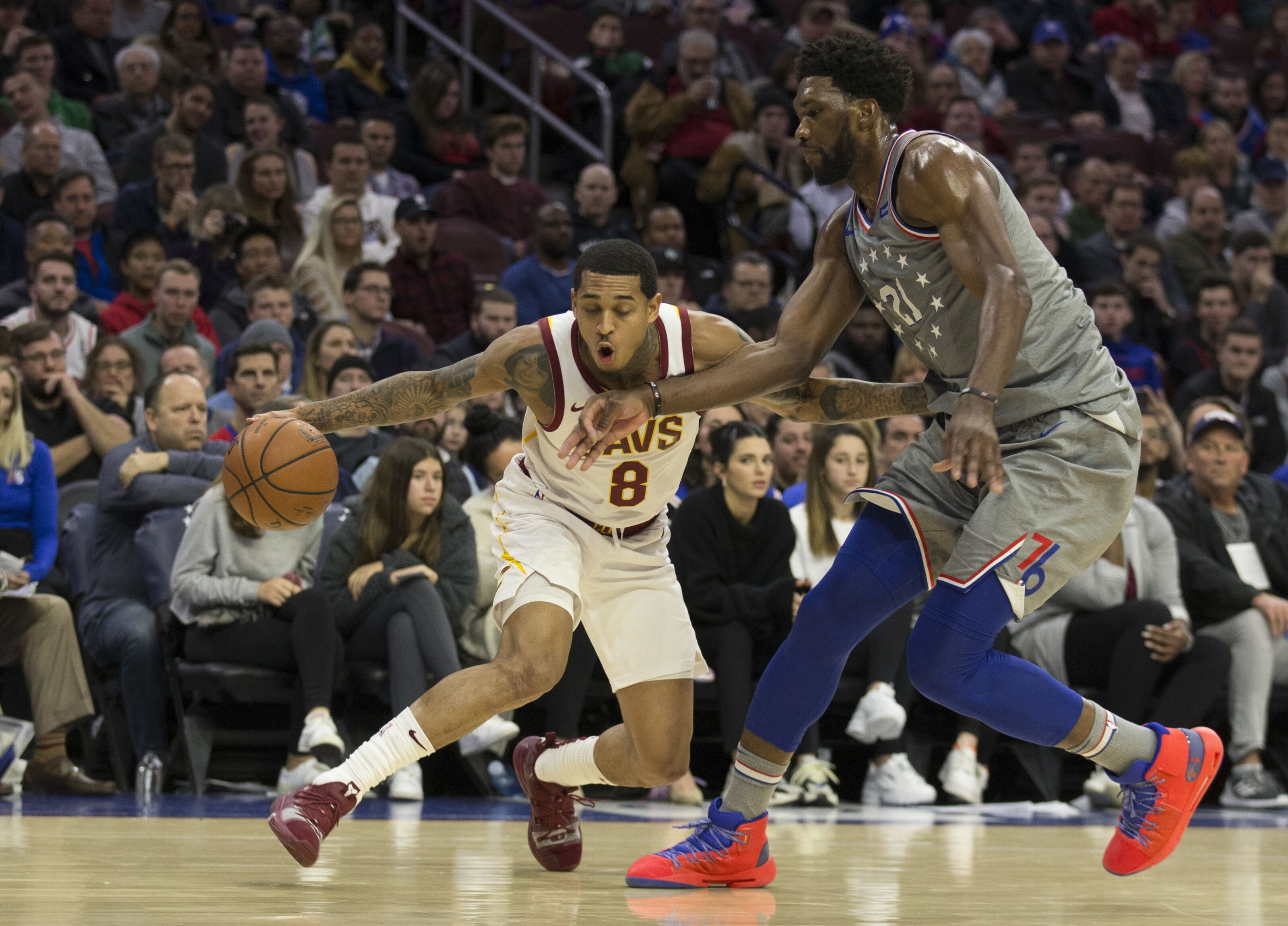 30eb73c1bea Cleveland Cavaliers: Jordan Clarkson must adjust to double-teams