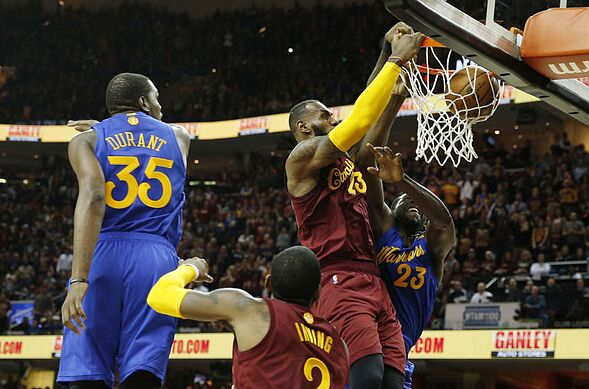Cleveland Cavaliers  Ranking LeBron James Top 5 Finals Moments 6ffb82412