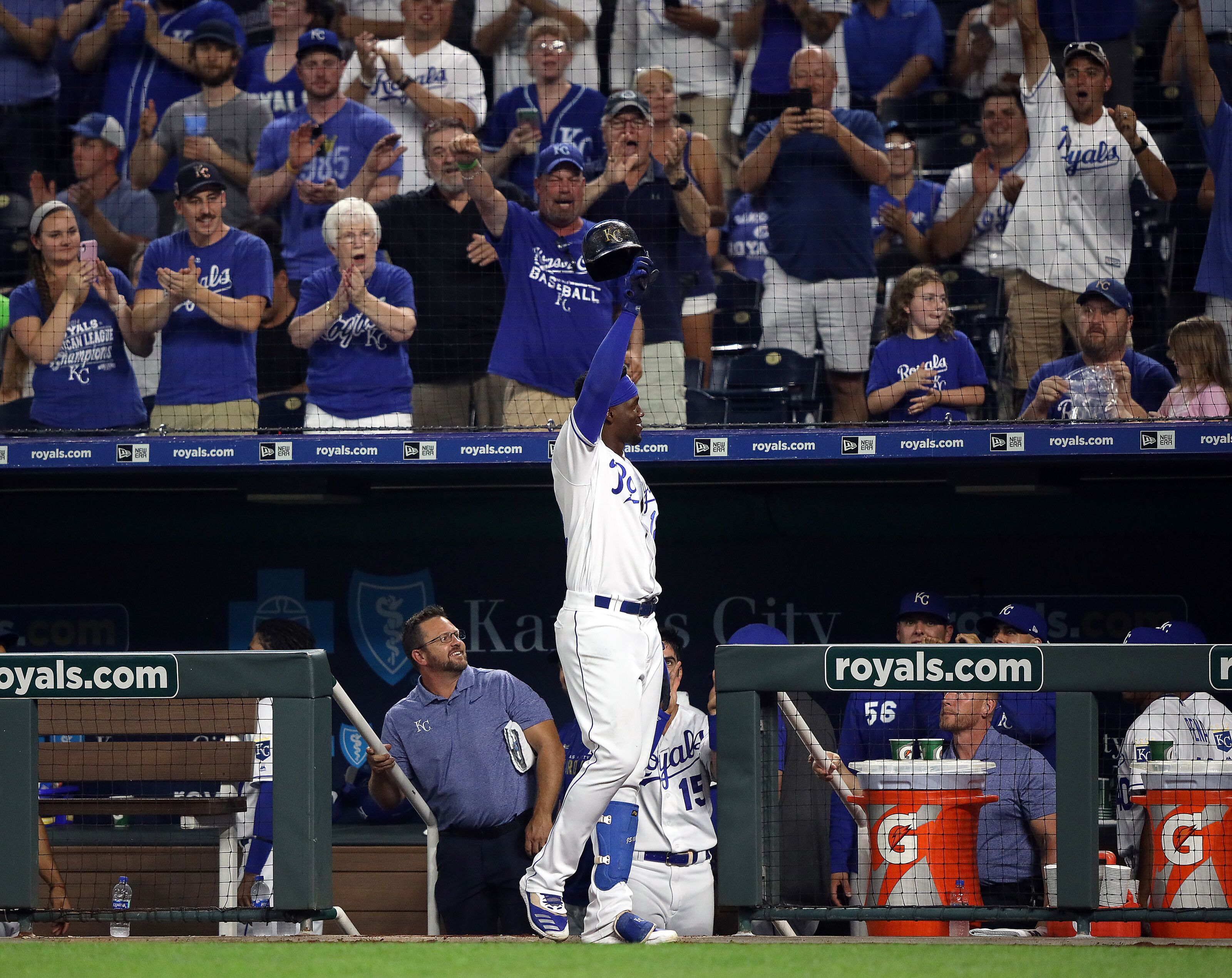 Kansas City Royals: Team home run record in jeopardy?