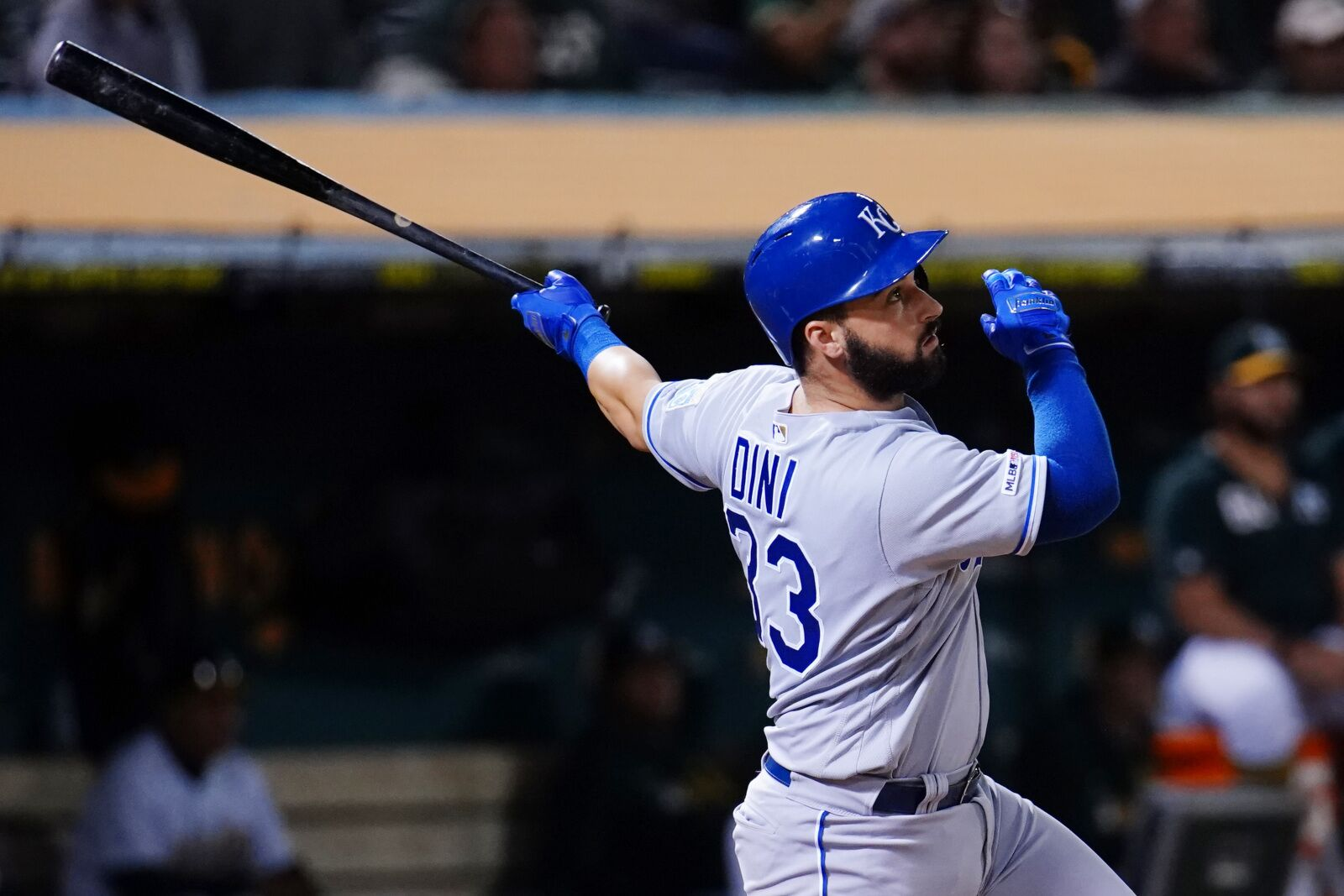 Kansas City Royals: Bats go cold in 2-1 loss against A's