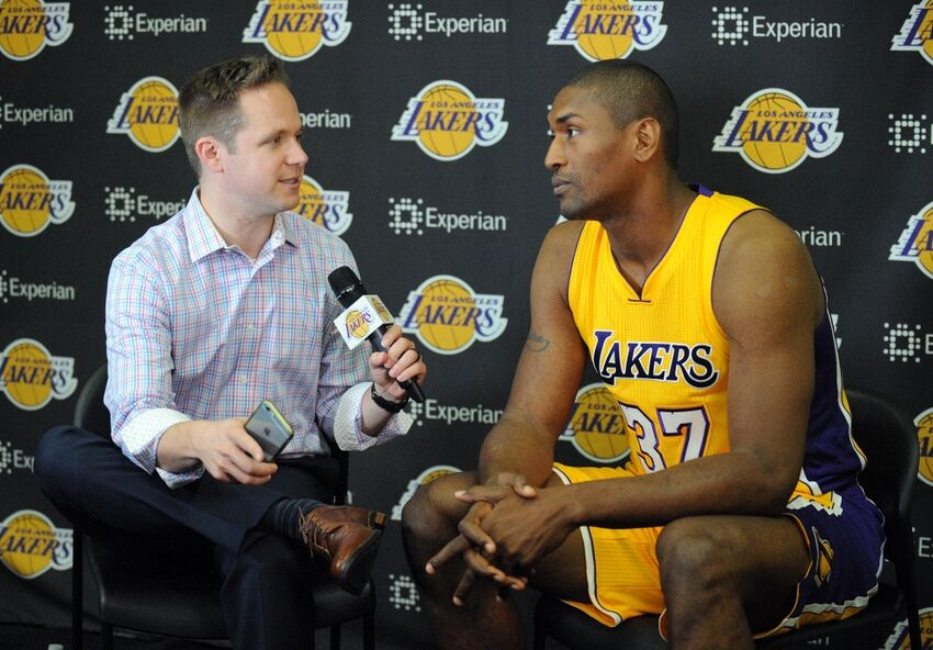Lakers: Metta World Peace exit interview sincere