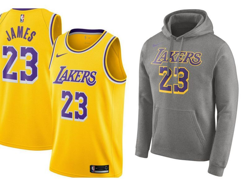 64fa1ab582487 Get your brand new Los Angeles Lakers jerseys from Fanatics