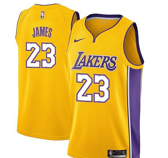 innovative design 39926 37dce Los Angeles Lakers: Get your LeBron James jersey now