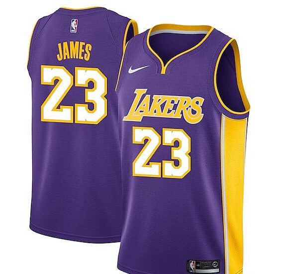 innovative design 71a12 134be Los Angeles Lakers: Get your LeBron James jersey now
