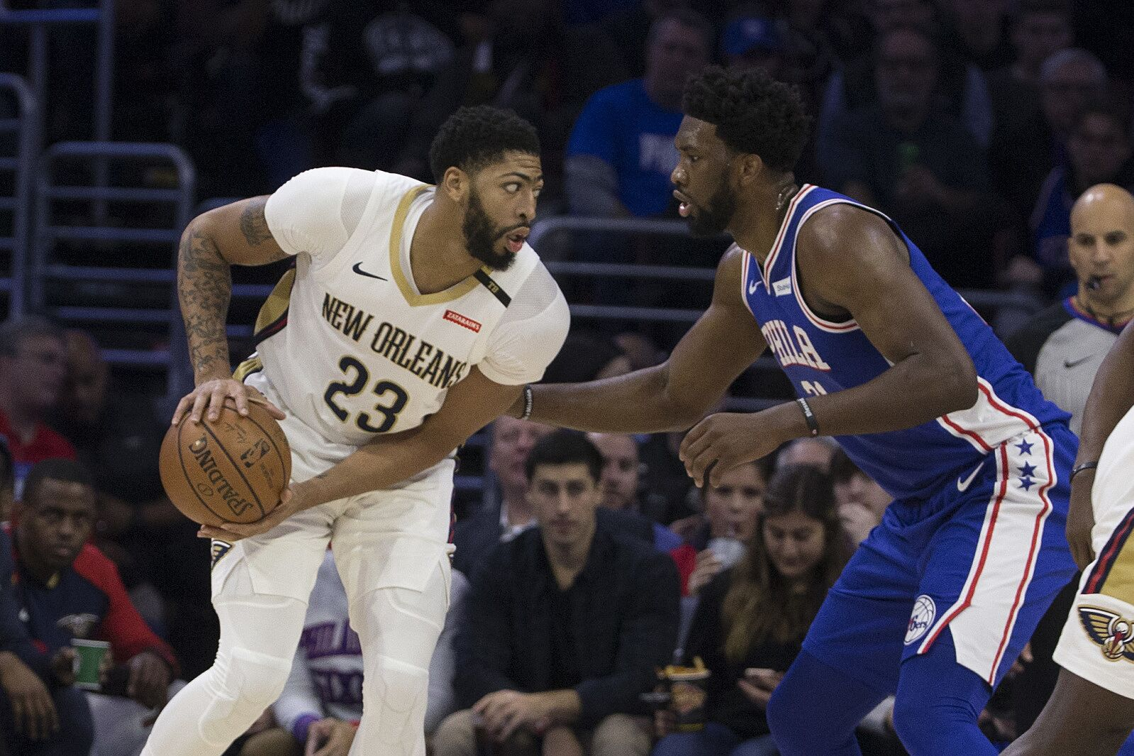 Los Angeles Lakers: Where does Anthony Davis rank among Top-5 bigs?