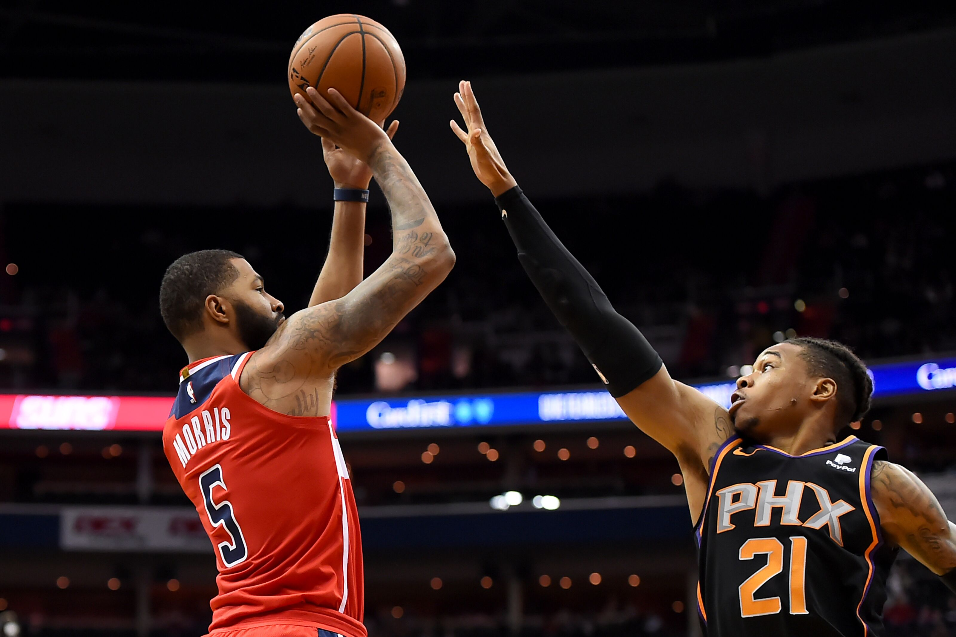 Los Angeles Lakers lose out on Markieff Morris to Oklahoma City Thunder