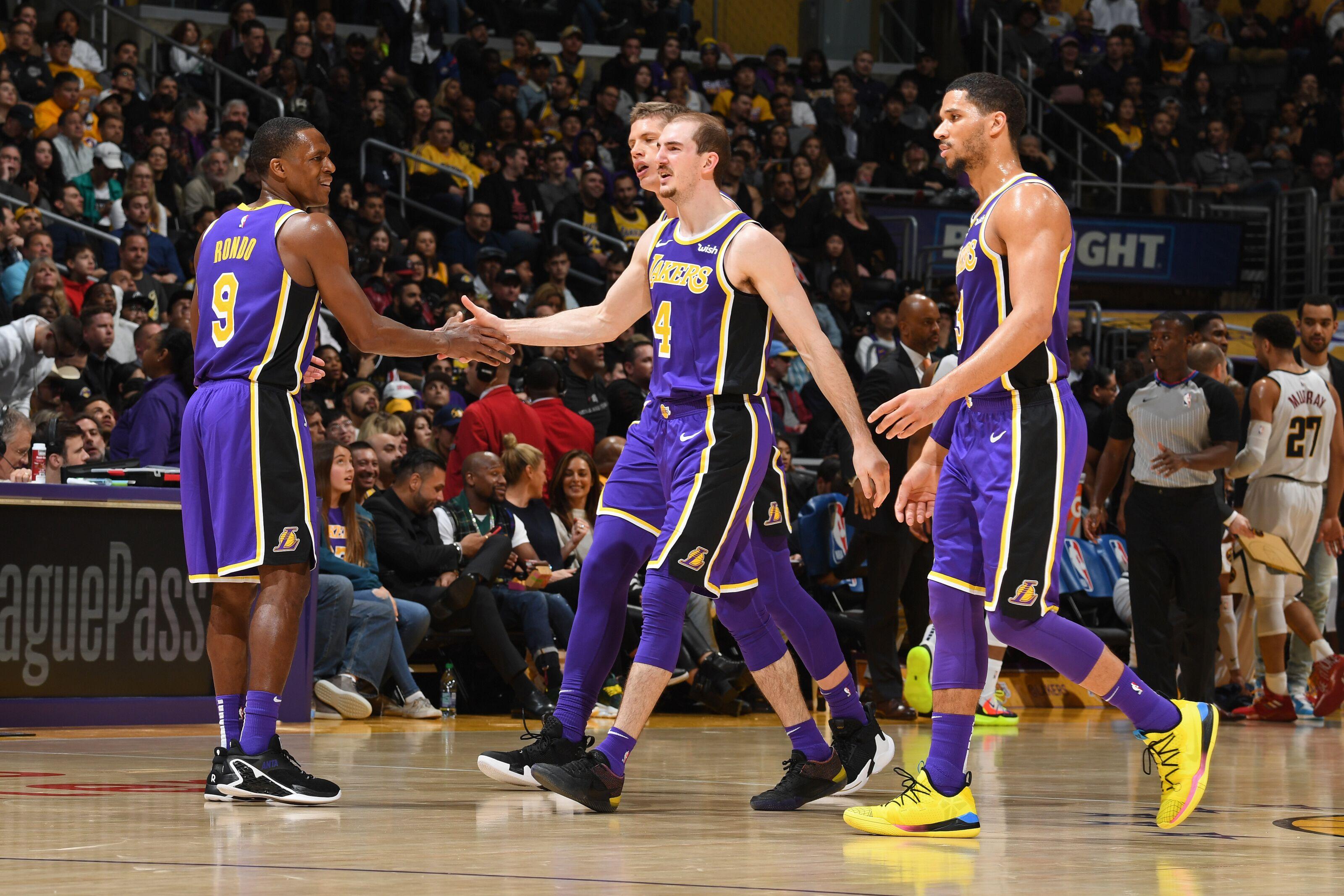Los Angeles Lakers: Rajon Rondo very impressed by Alex