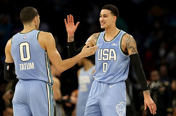 100% authentic a281e b8a53 Los Angeles Lakers: Kyle Kuzma shines in Rising Stars Challenge