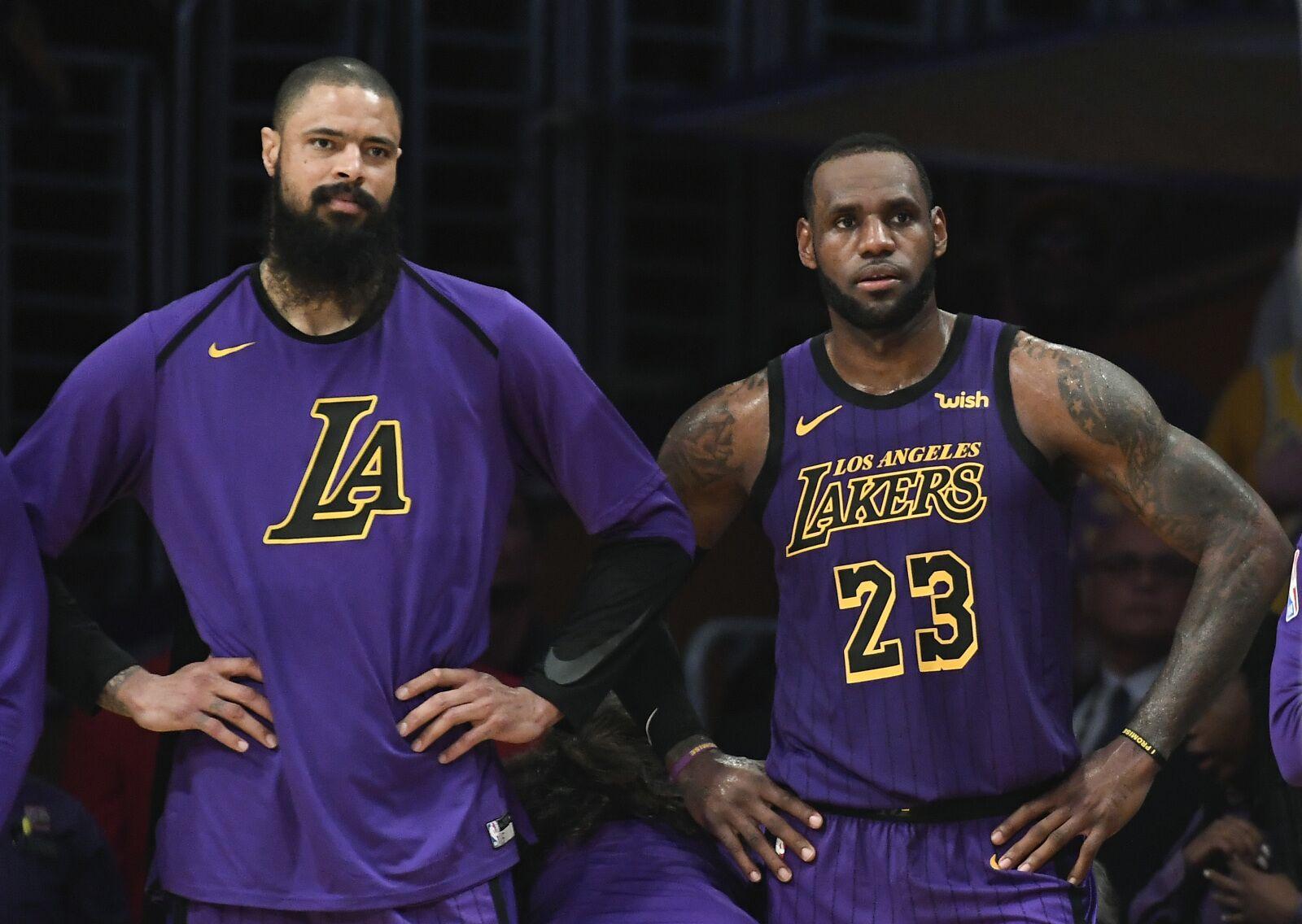 90225bdd373a Los Angeles Lakers  Tyson Chandler breaks down reasons for struggles