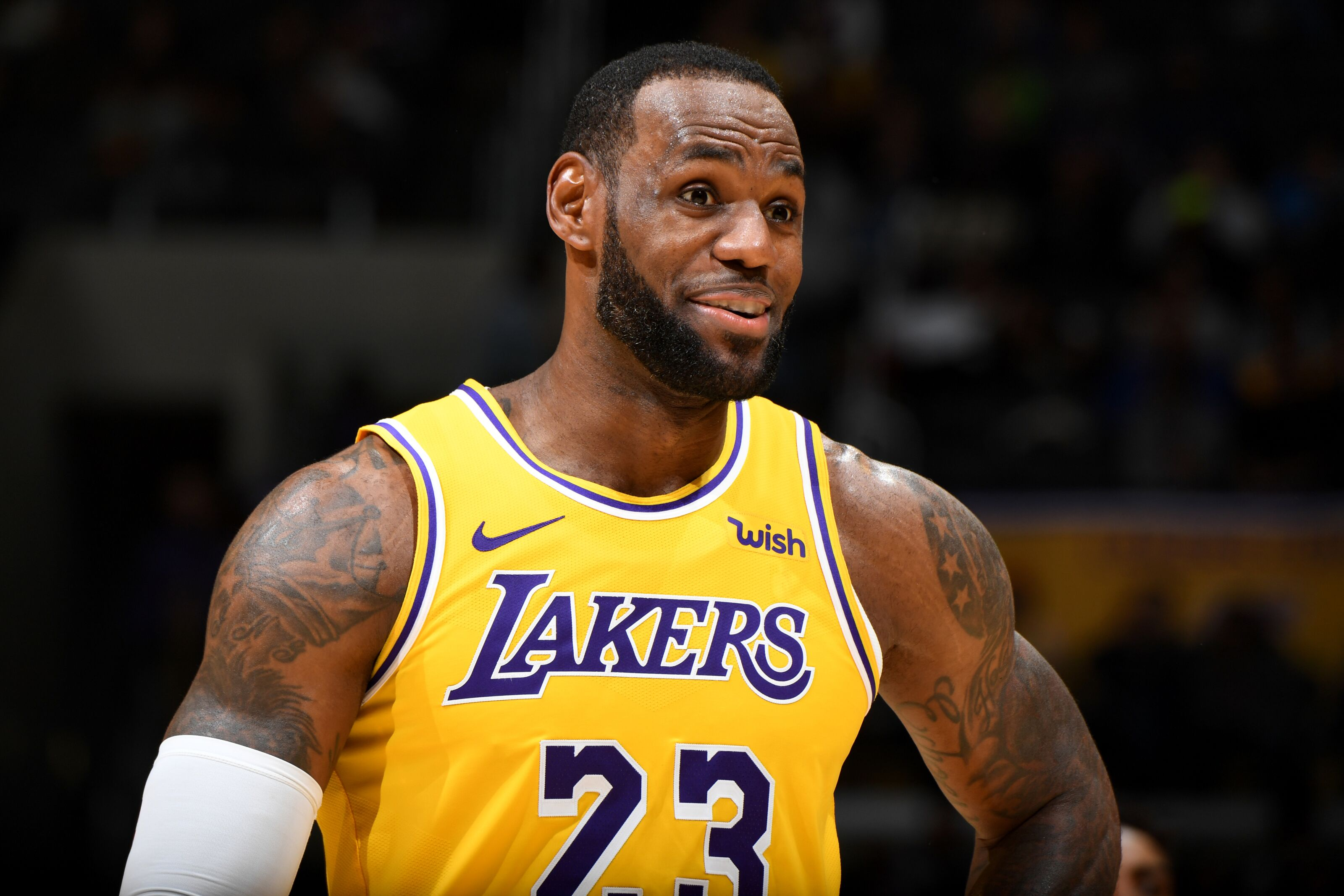 ff916858214 Lakers Rumors: LeBron James not a fan of team's roster construction
