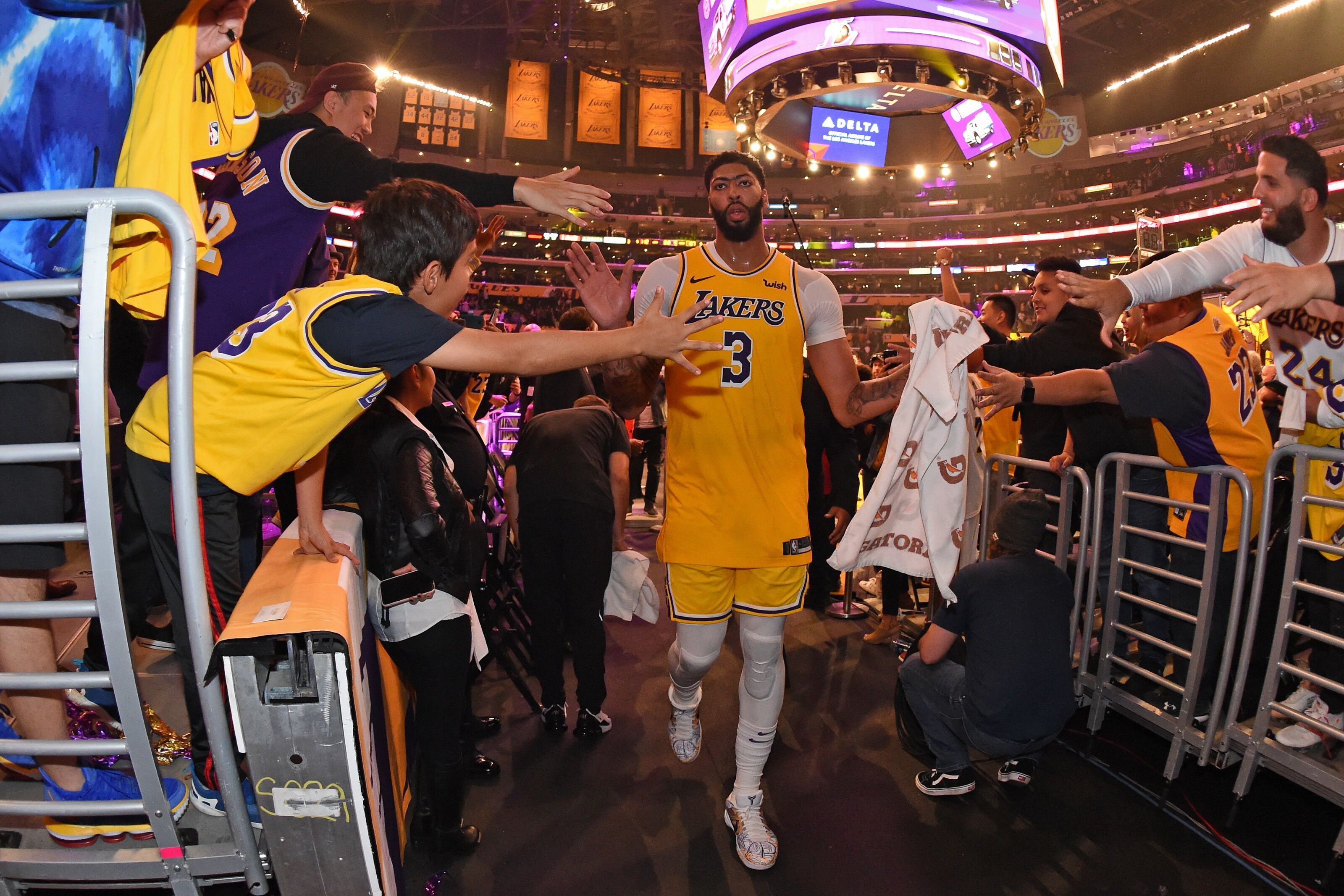 Los Angeles Lakers have the best fans in the NBA