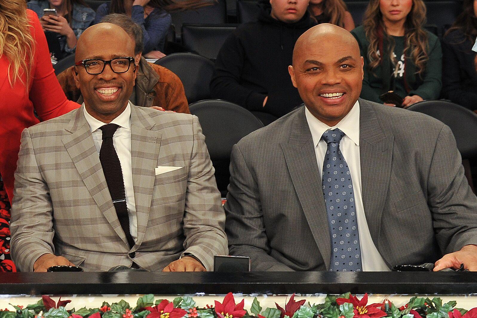 d2d95b649cb9 Los Angeles Lakers  Charles Barkley invites LeBron James onto TNT