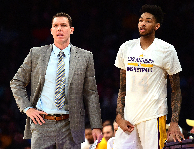 dfe7f0ea2 Los Angeles Lakers  Luke Walton believes Brandon Ingram can be great