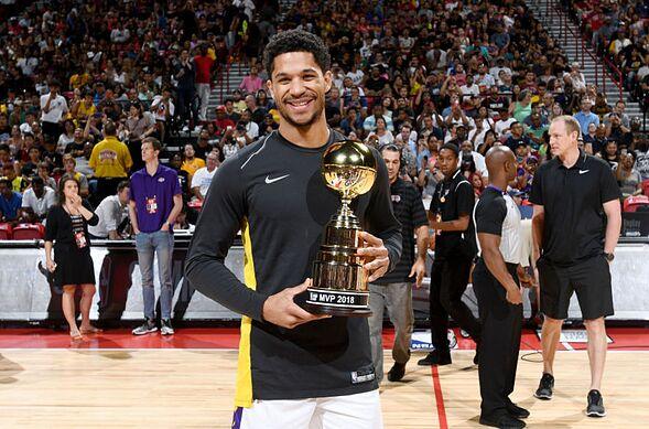 Джош Харт Лос-Анджелес Лейкерс MVP летней лиги