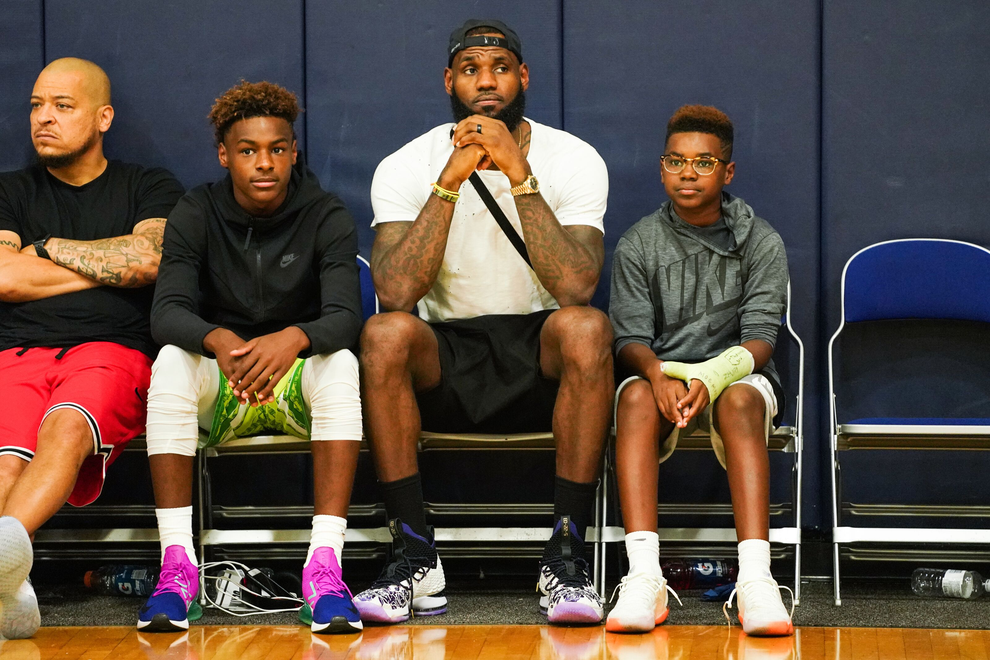4b55cf9fe7c Los Angeles Lakers  LeBron James would love to play with his son