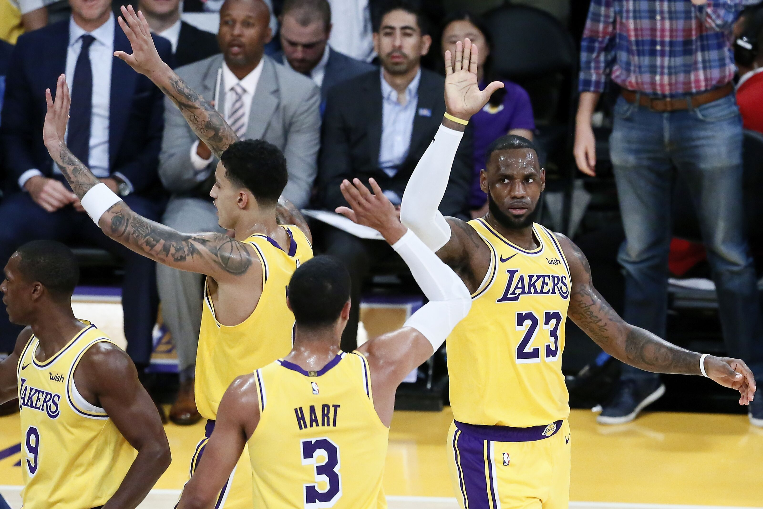 3ff8493a60a Los Angeles Lakers  Where is LeBron James At So Far
