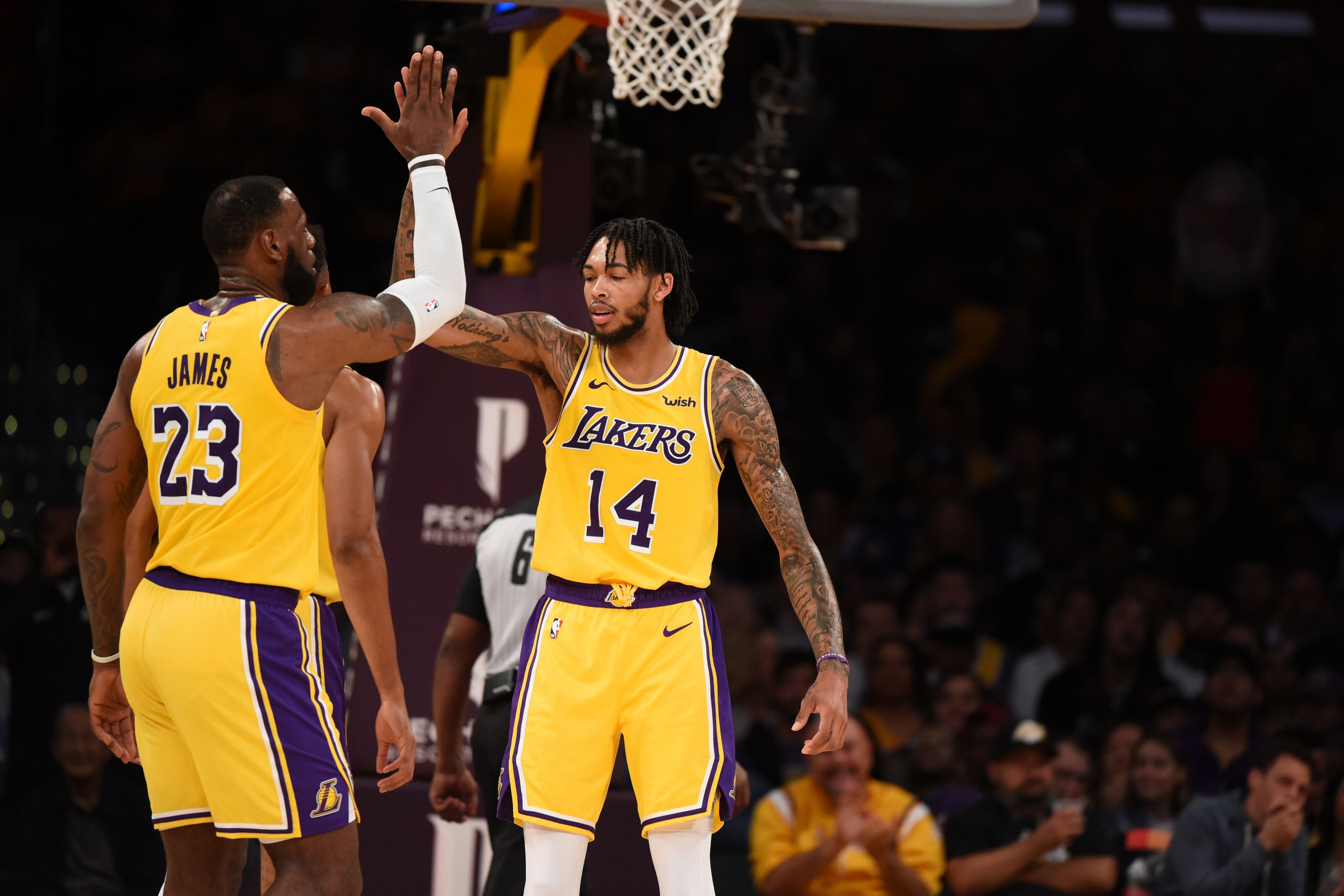 540e1e905 Los Angeles Lakers  LeBron James has partner in Brandon Ingram