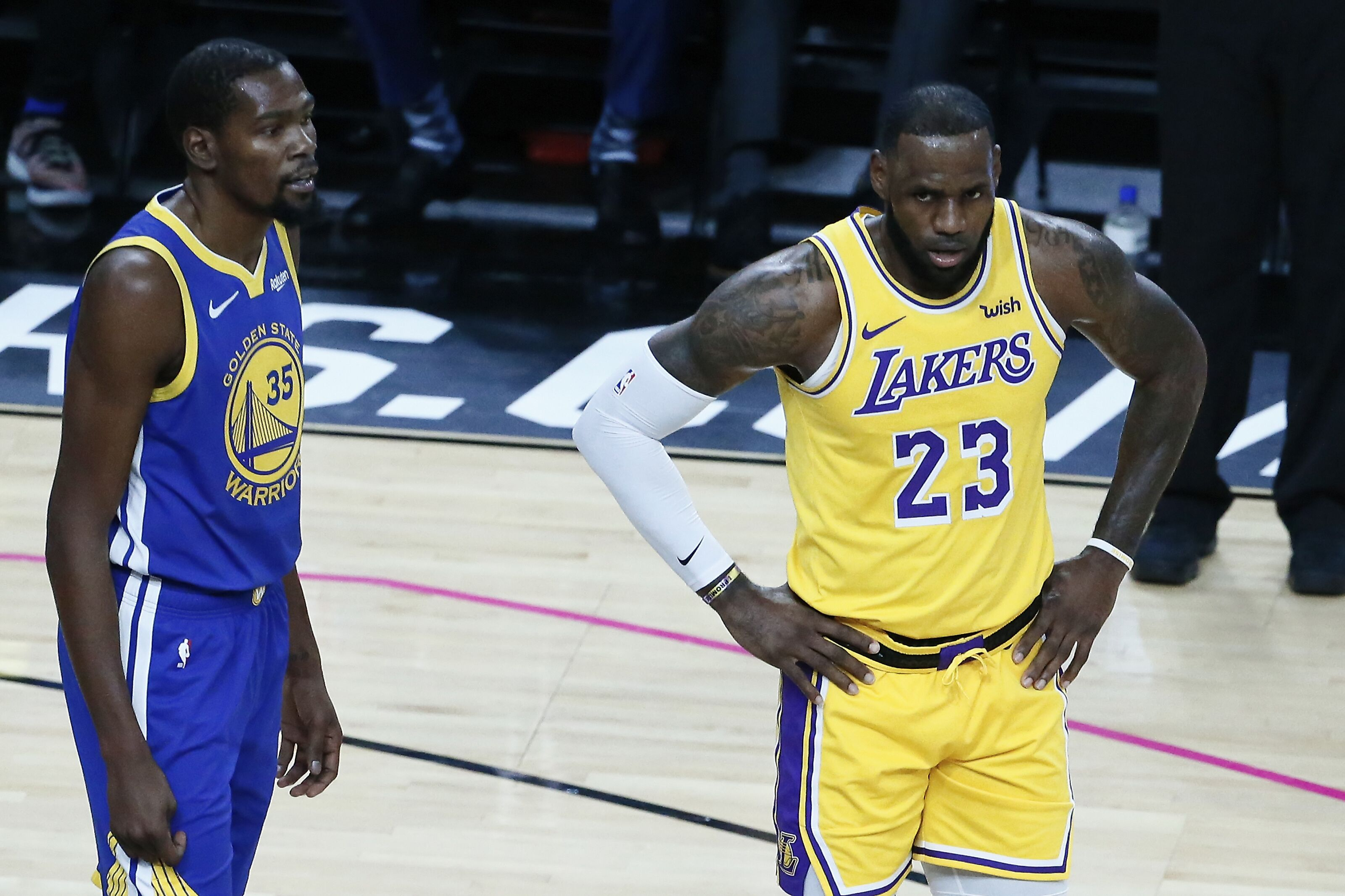 Los Angeles Lakers: What recent Kevin Durant, Golden State Warriors reports mean